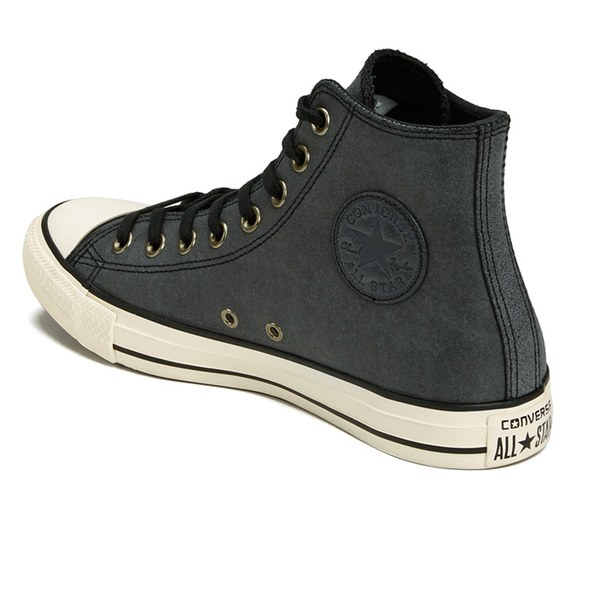 d0376070a5473a Converse Men s Chuck Taylor All Star Vintage Leather Hi-top Trainers ...
