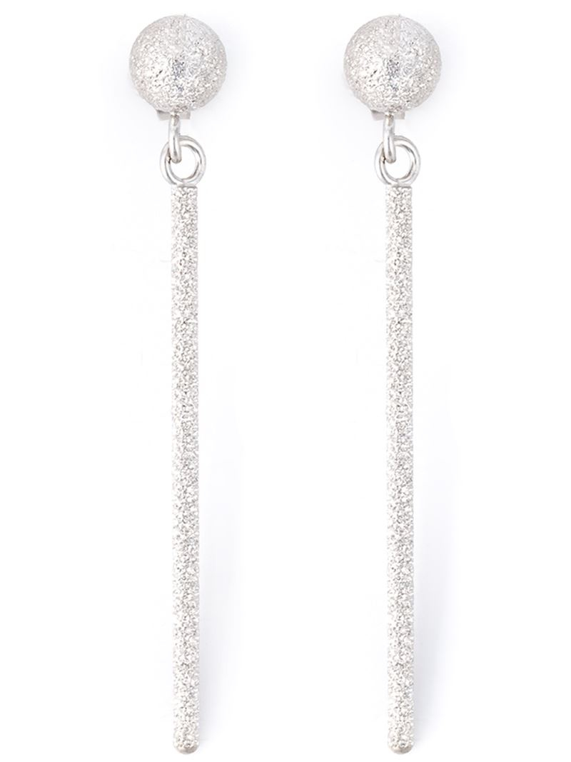 carolina bucci mirador sparkly stud drop earrings in