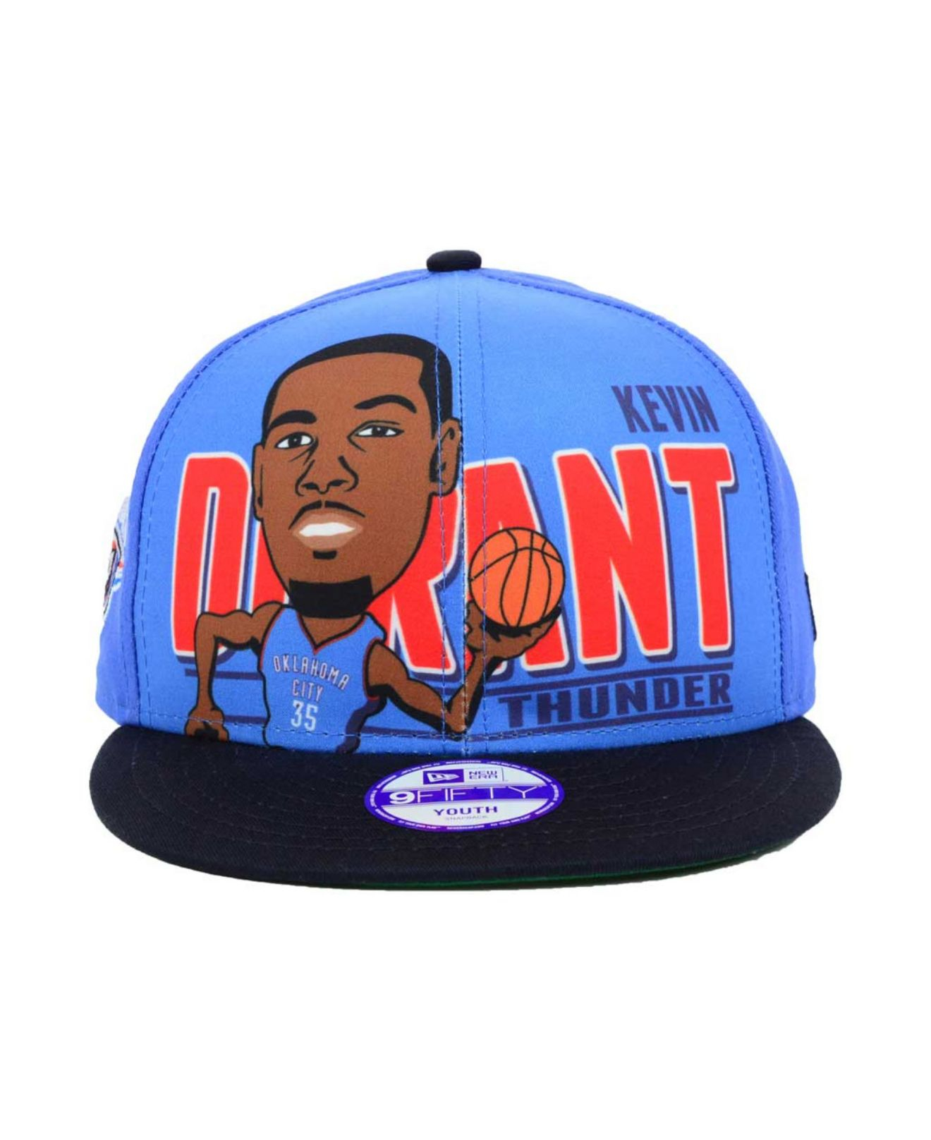 85ae2da43555d KTZ Kids  Kevin Durant Oklahoma City Thunder Player 9Fifty Snapback ...