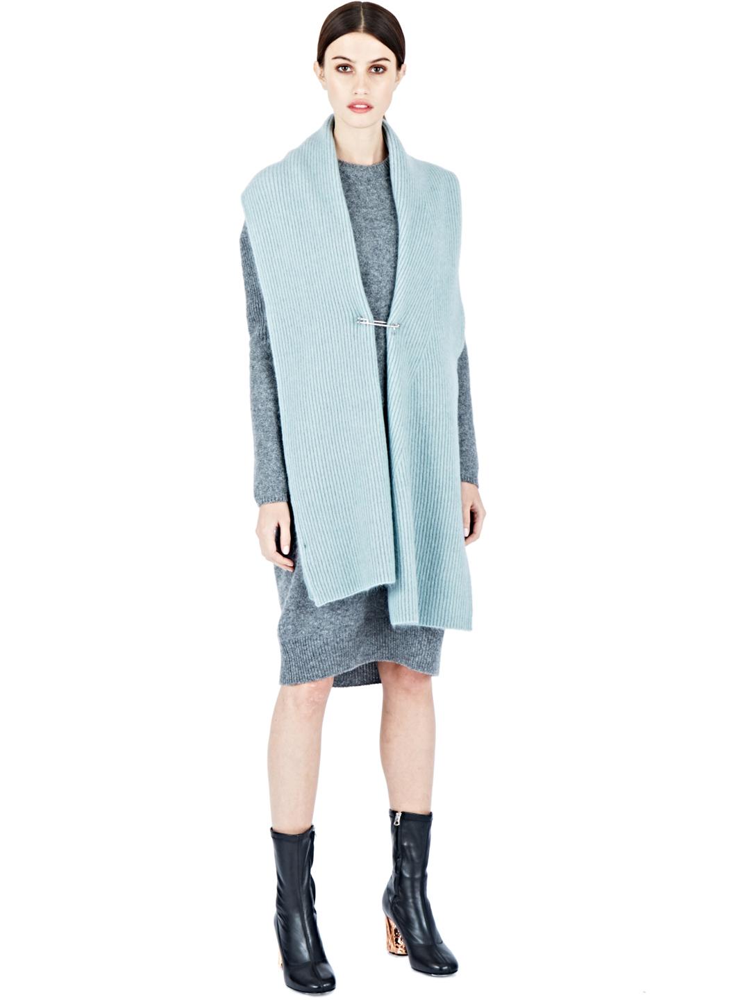 273b0d699ed Acne Studios Phebe Shet Sweater Dress in Blue - Lyst