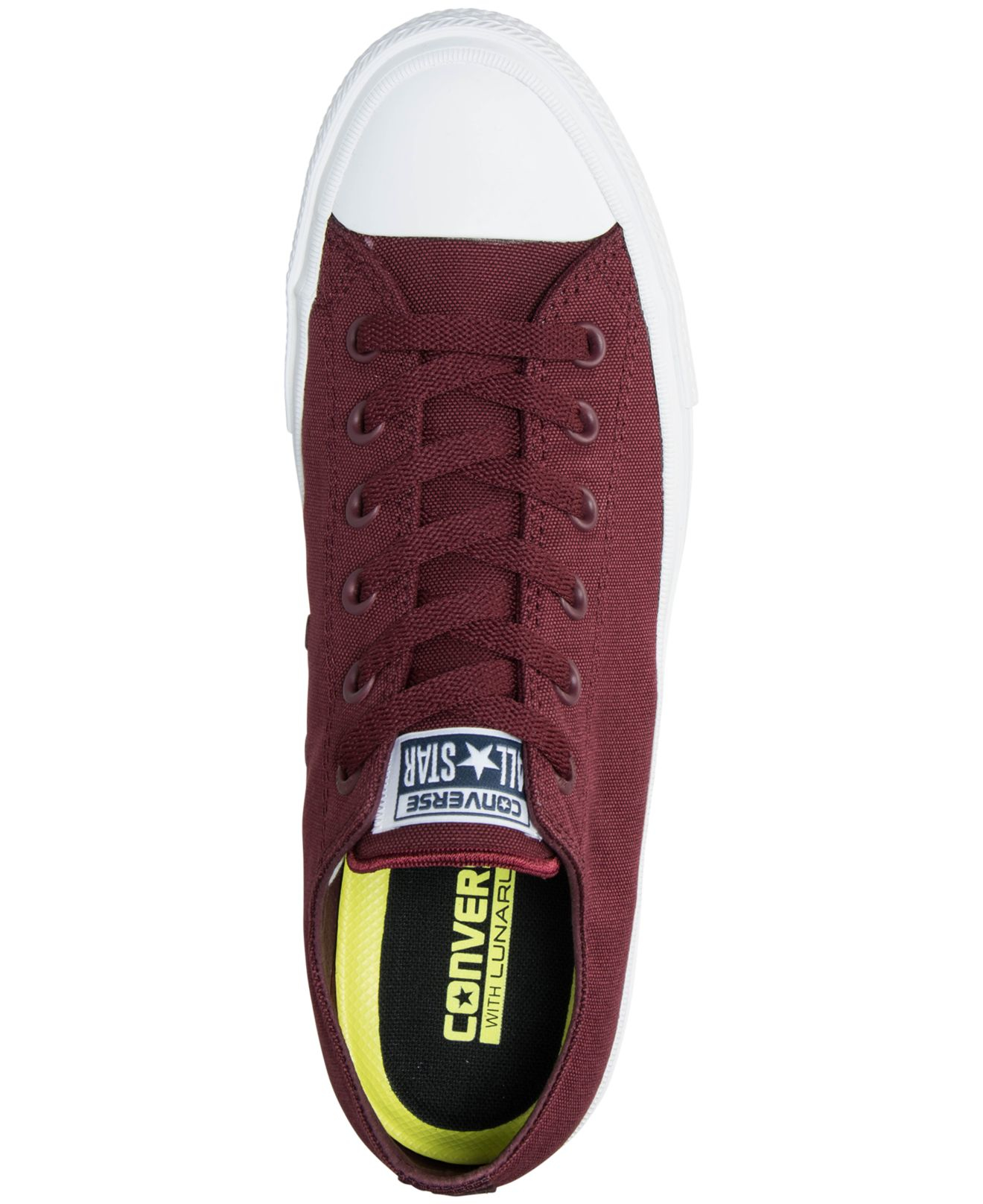 200ad16bfe96 Lyst - Converse Men s Chuck Taylor All Star Ii Ox Casual Sneakers From Finish  Line in Purple for Men