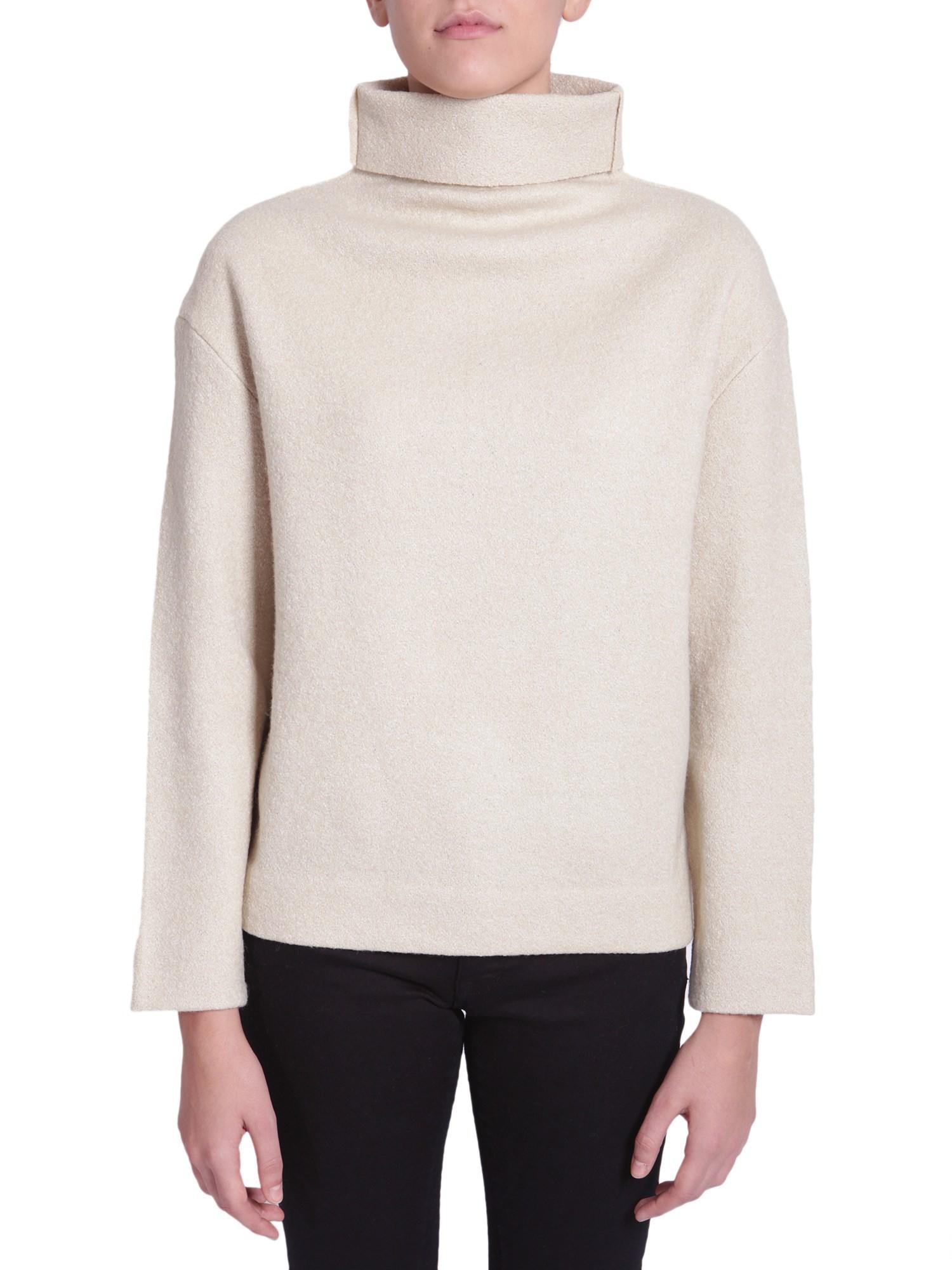 toile isabel marant turtle neck sweater in beige lyst. Black Bedroom Furniture Sets. Home Design Ideas
