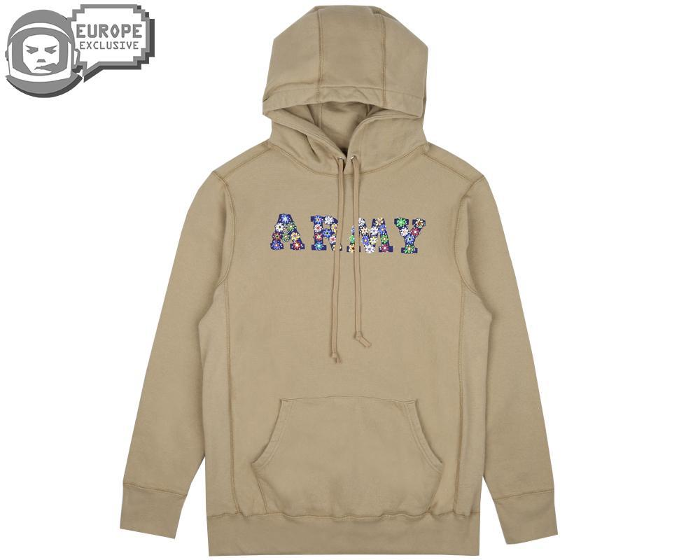 Men Hoody Army Khaki Lyst Line For Bee FnqSZWRwxW