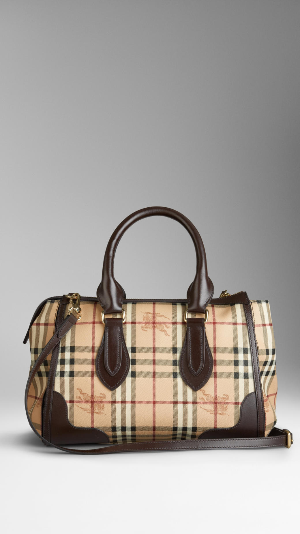 ... differently 7cdc2 a6a3d Lyst - Burberry Small Haymarket Check Tote Bag  in Brown ... 73a0ca28e5