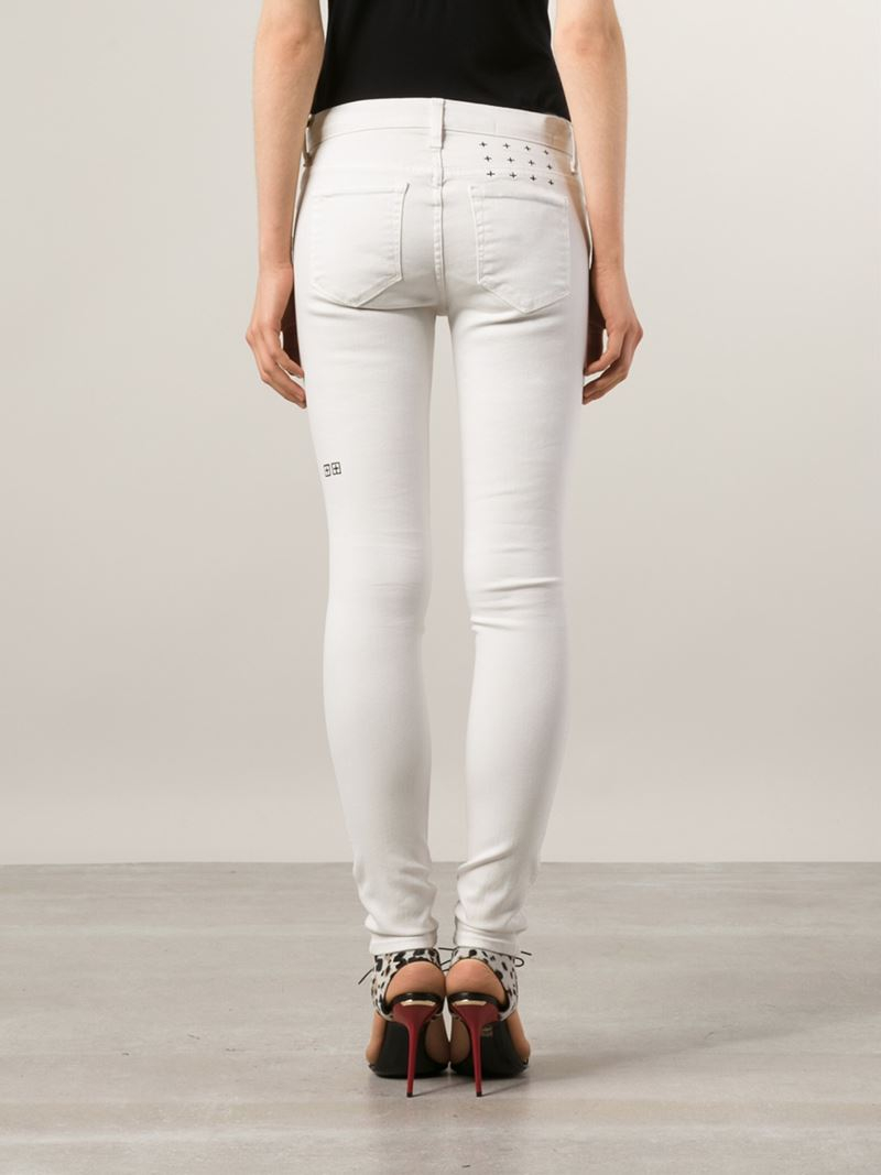 Collection Ripped White Skinny Jeans Pictures - Watch Out, There's ...