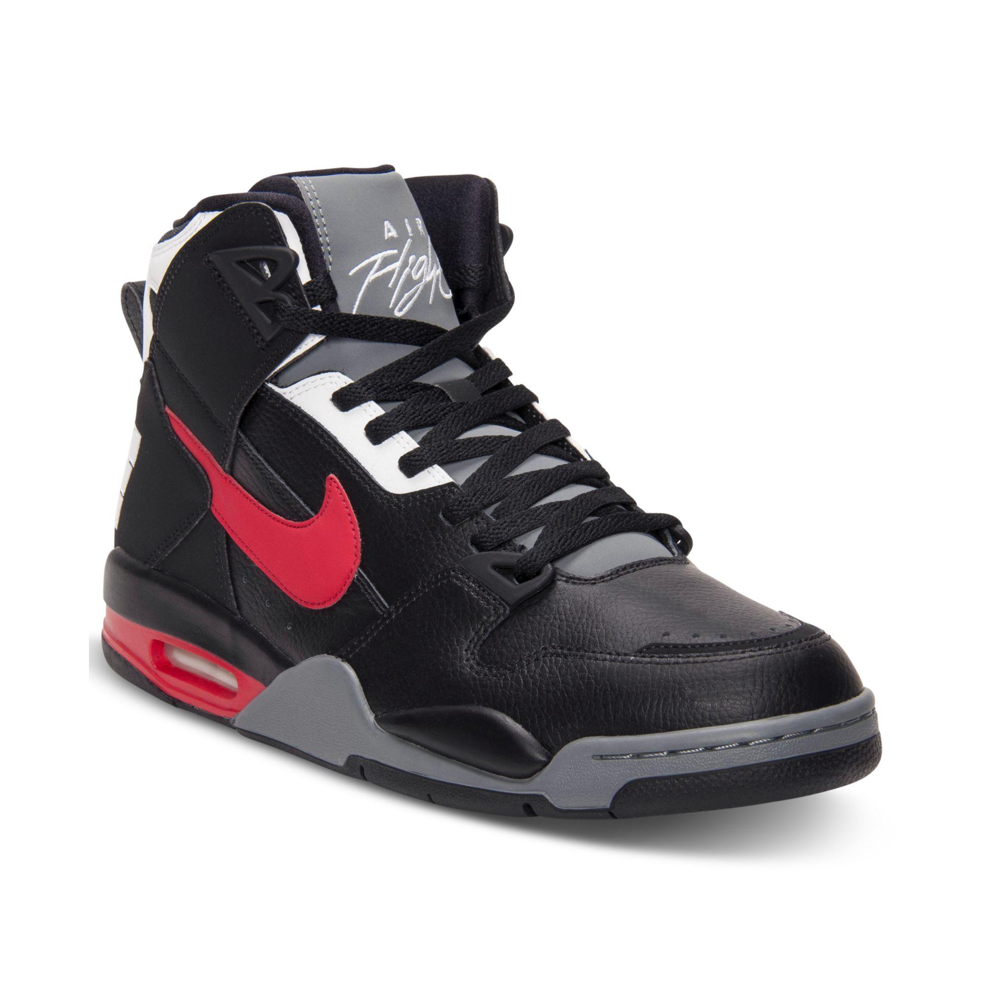 lyst nike air flight condor high basketball sneakers in