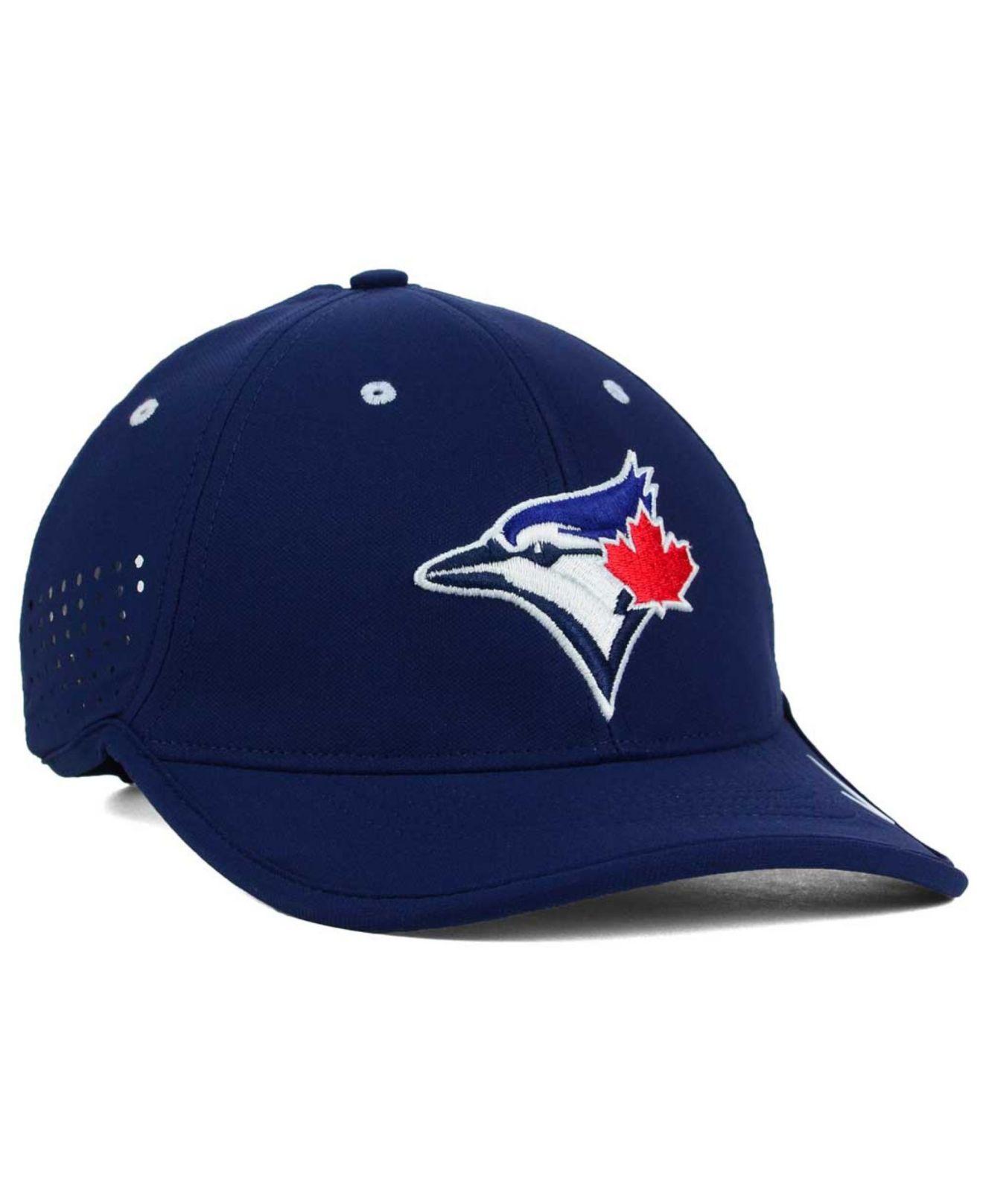 f4265d05712 ... canada lyst nike toronto blue jays vapor swoosh adjustable cap in red  for men 5395d bd469