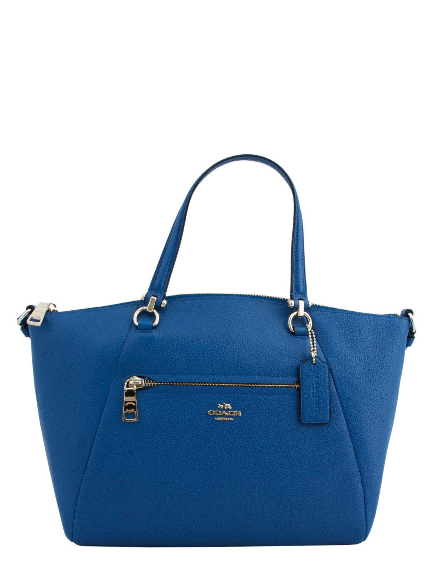 coach prairie bag in blue lyst