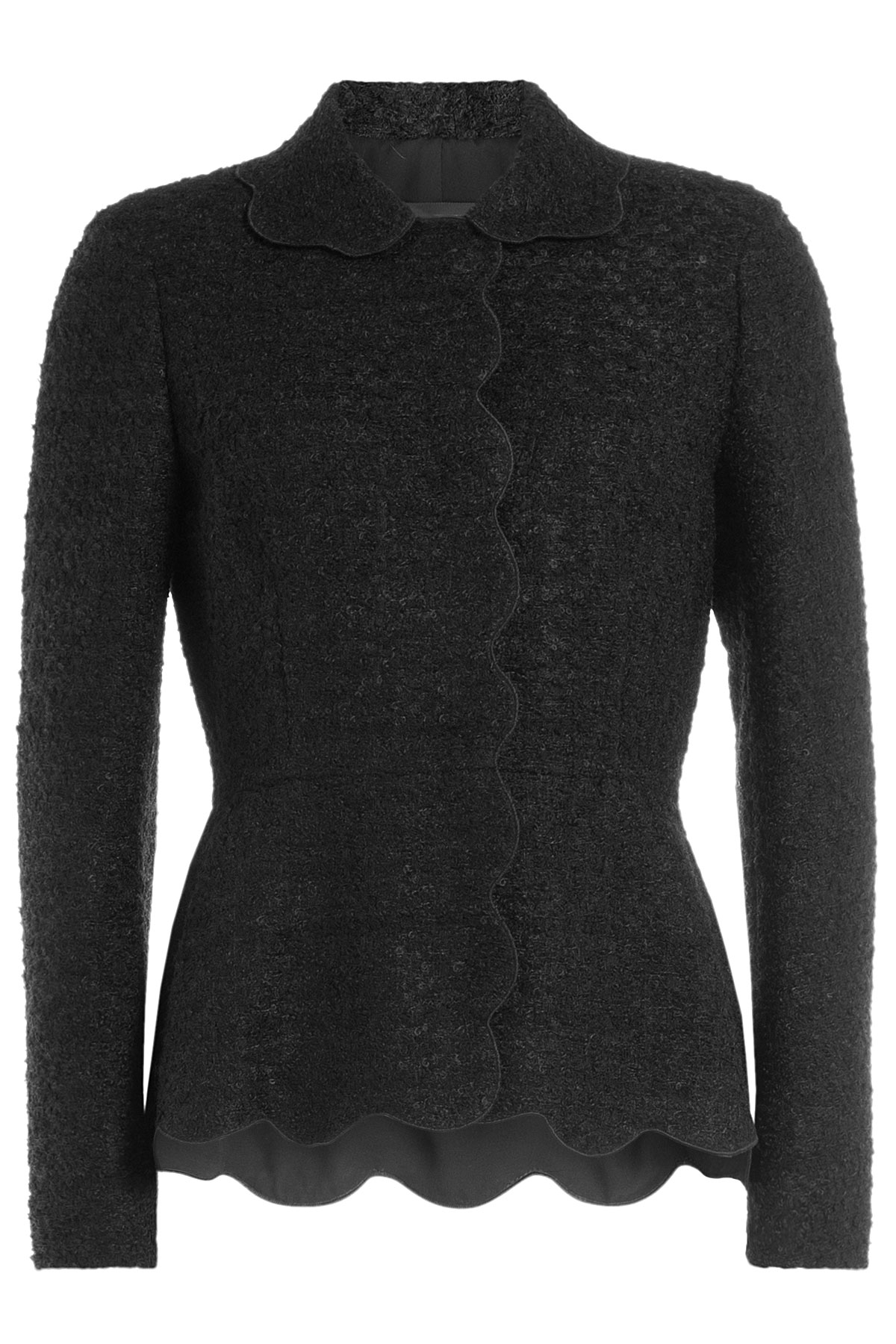 Browse 74 Bouclé Jackets at Stylight − 43 best selling brands Sale: up to −55% Bouclé Jackets in great variety of styles & colors Shop now» Vintage Adolfo Pink & Black Ribbon Trim Boucle Jacket s. USD $ Delivery: Delivery costs apply. Karl Lagerfeld. Chanel A/w A-symmetrical Front Side Zip Knitwear Cardigan Jacket