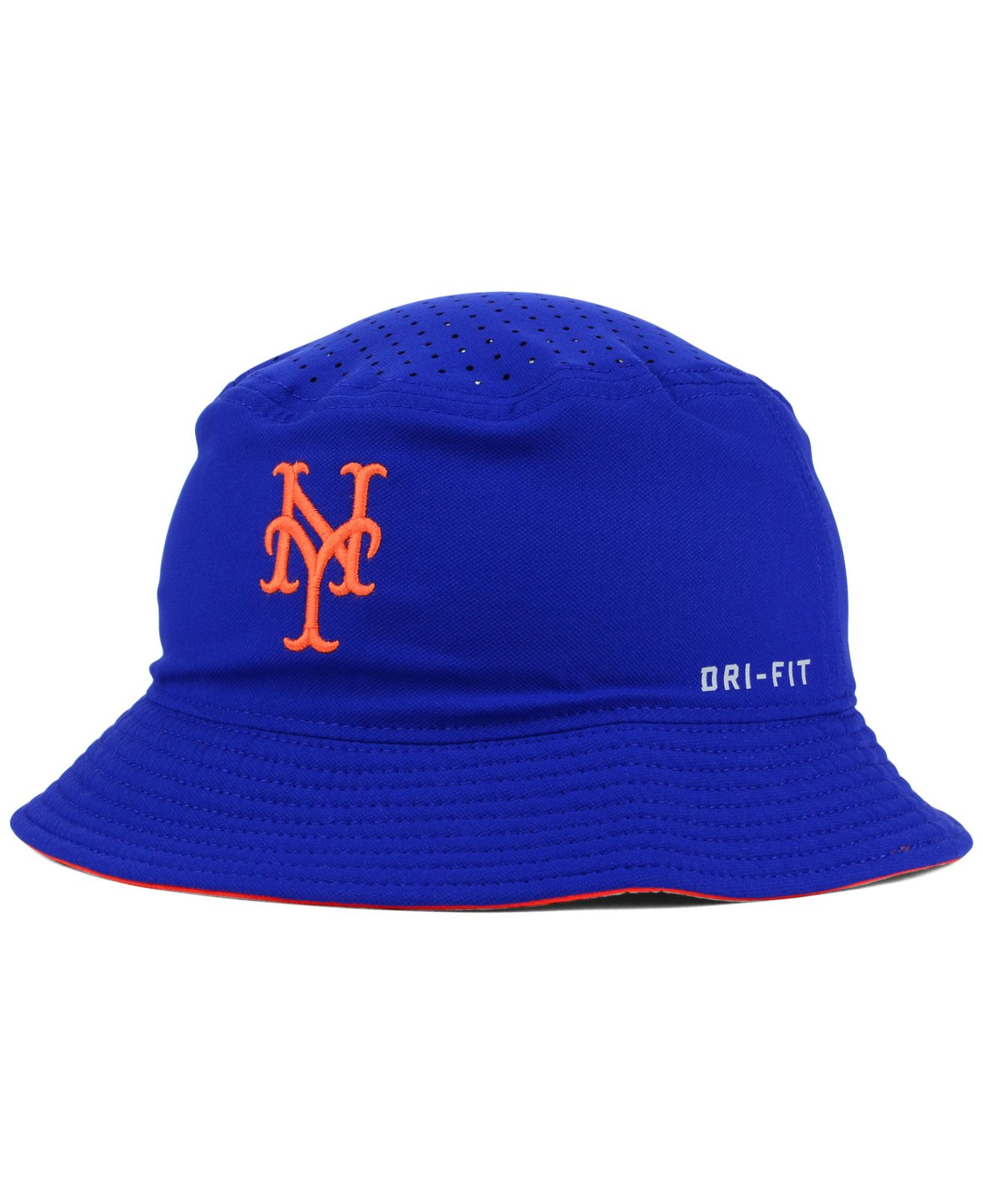 ffc9c4b2de838 Nike New York Mets Vapor Dri-Fit Bucket Hat in Blue for Men - Lyst