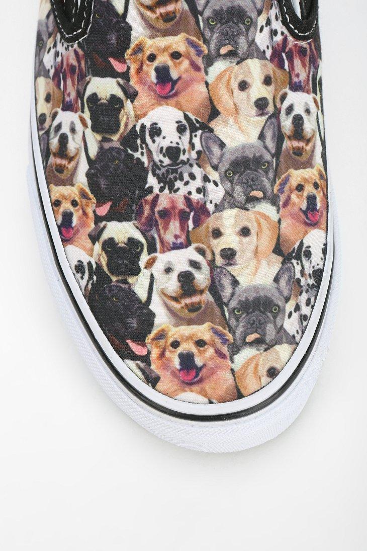 Vans X Aspca Dog Print Slipon Sneaker