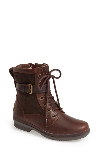 Ugg Ugg Kesey Waterproof Boot In Brown Chestnut Lyst