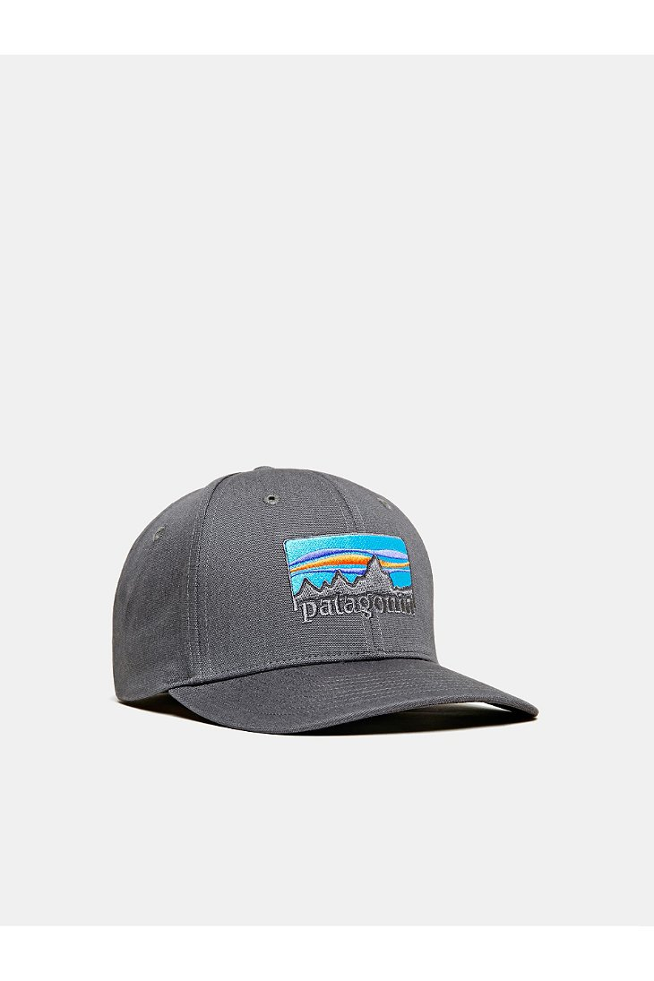 b43461e81a3 Lyst - Patagonia 73 Logo Roger That Hat in Gray for Men