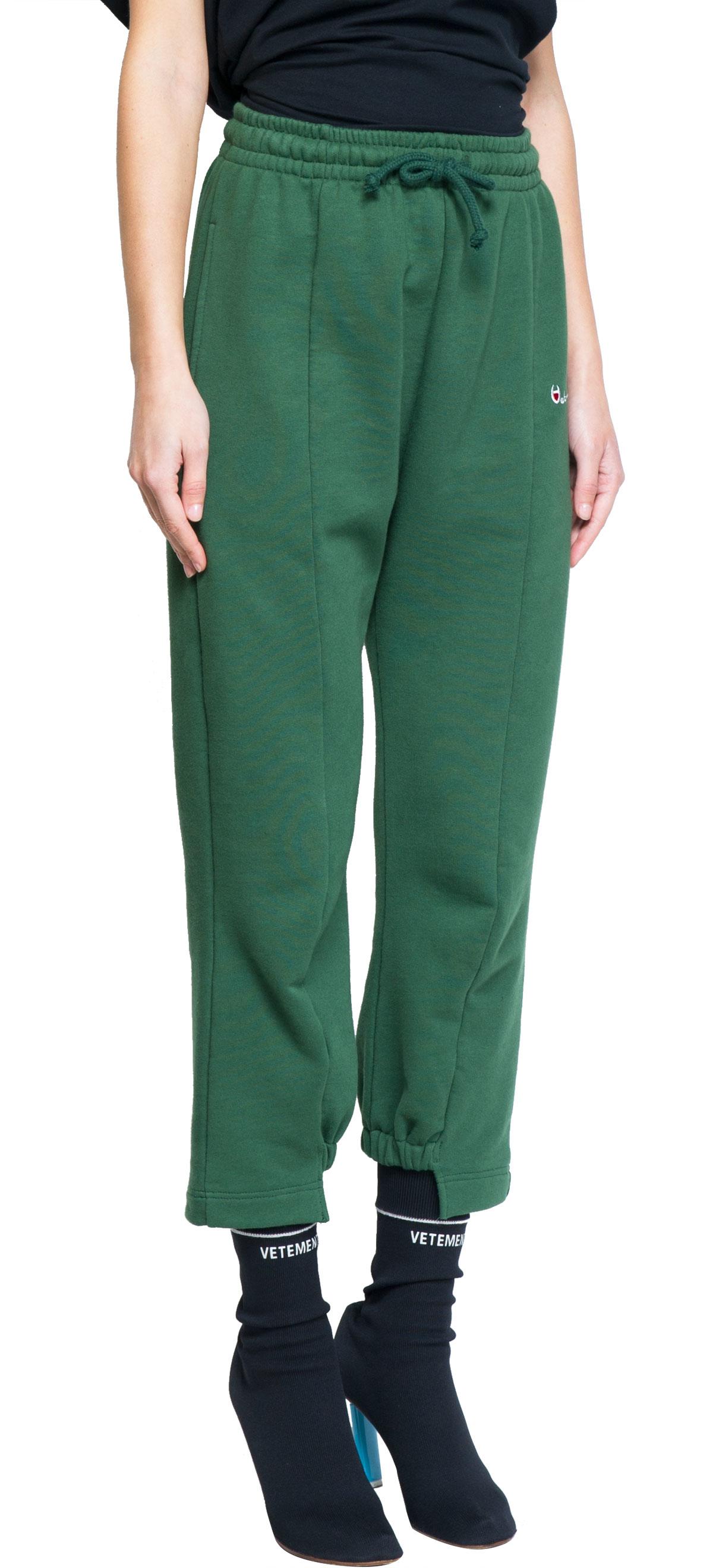 Vetements Green Sweatpants in Green | Lyst