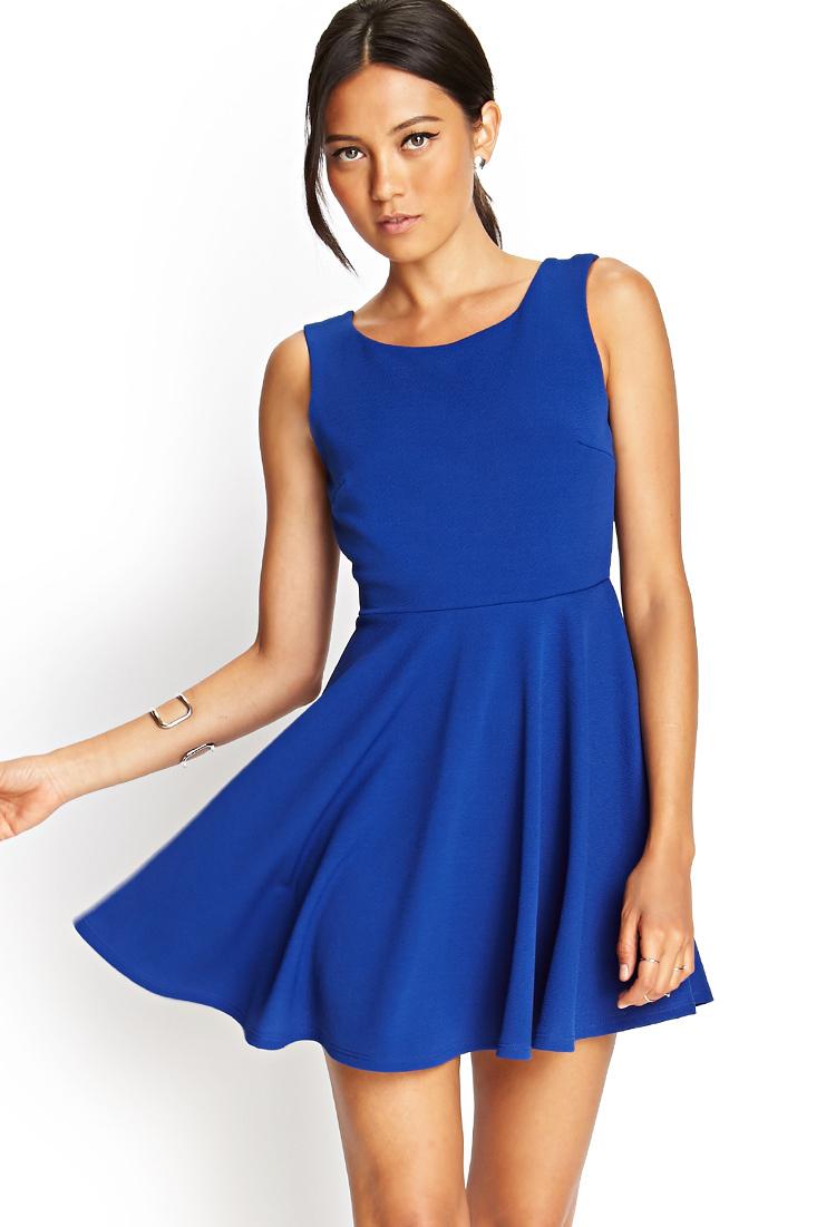 blue skater dress forever 21 | Gommap Blog