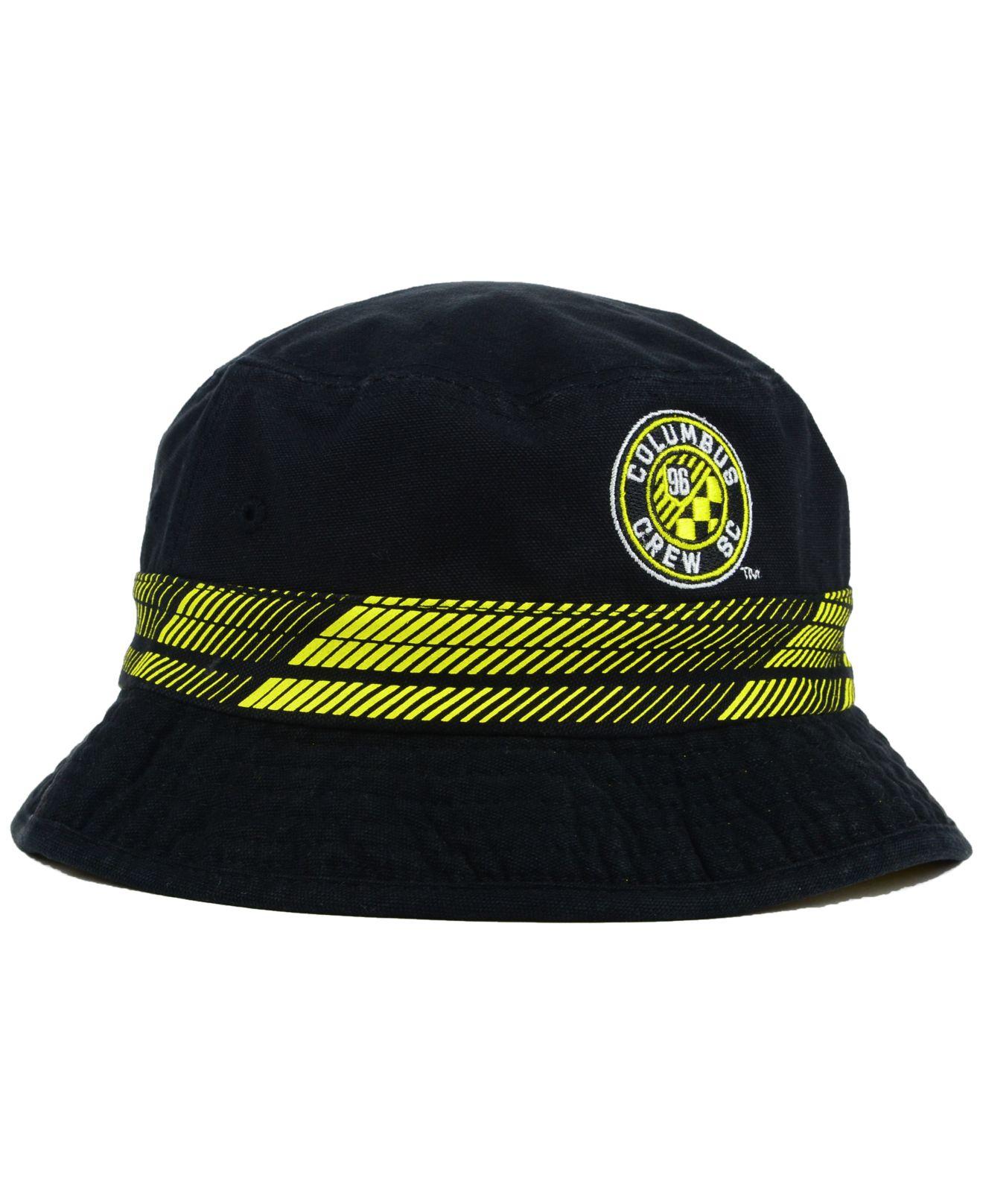 f5bd0cad89a5d ... switzerland lyst adidas columbus crew evolution bucket hat in yellow f  fashion styles c53bf 33a0c 2c4fa