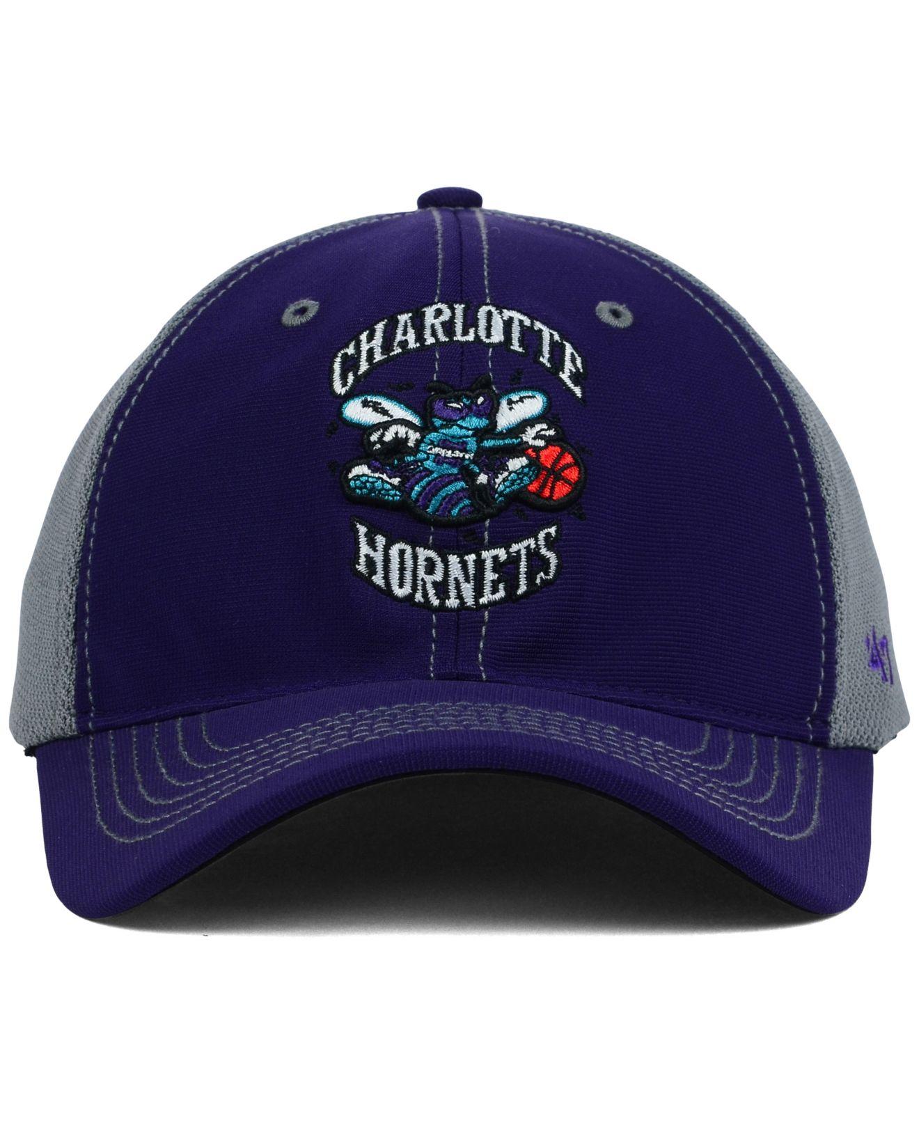 ... shot snapback cap 80d9e 34fb4  canada lyst 47 brand charlotte hornets  reversal team color 47 closer cap baba9 131dc d89094e289fb