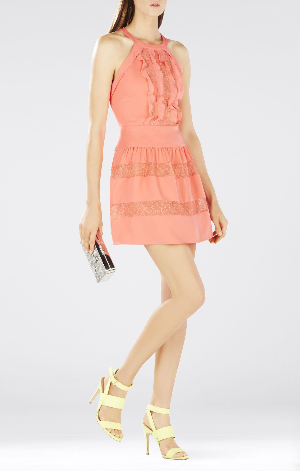 5293401173d Gallery. Previously sold at  BCBGMAXAZRIA · Women s Lace And Chiffon Dresses  ...