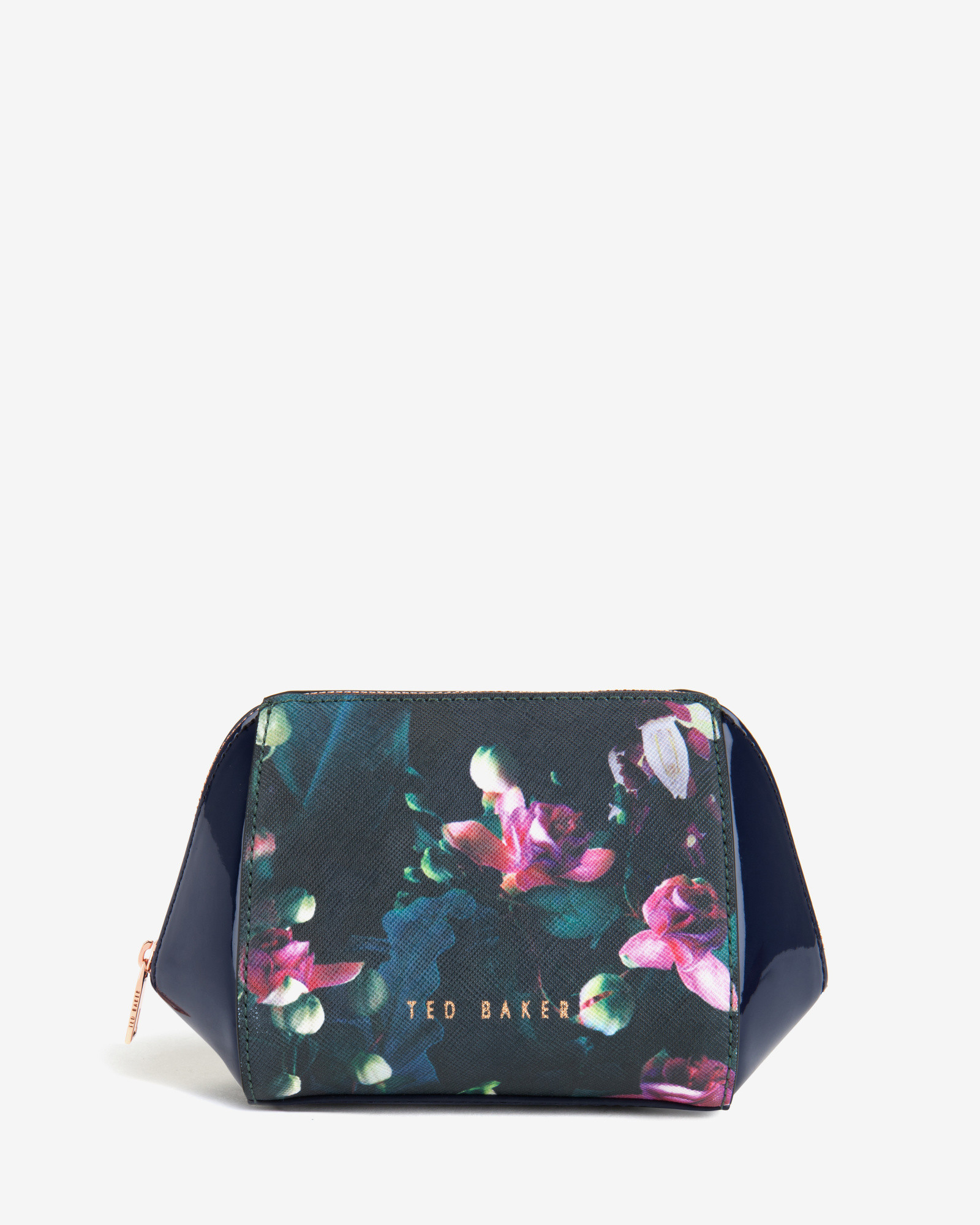 Lyst - Ted Baker Small Fuchsia Floral Wash Bag In Blue