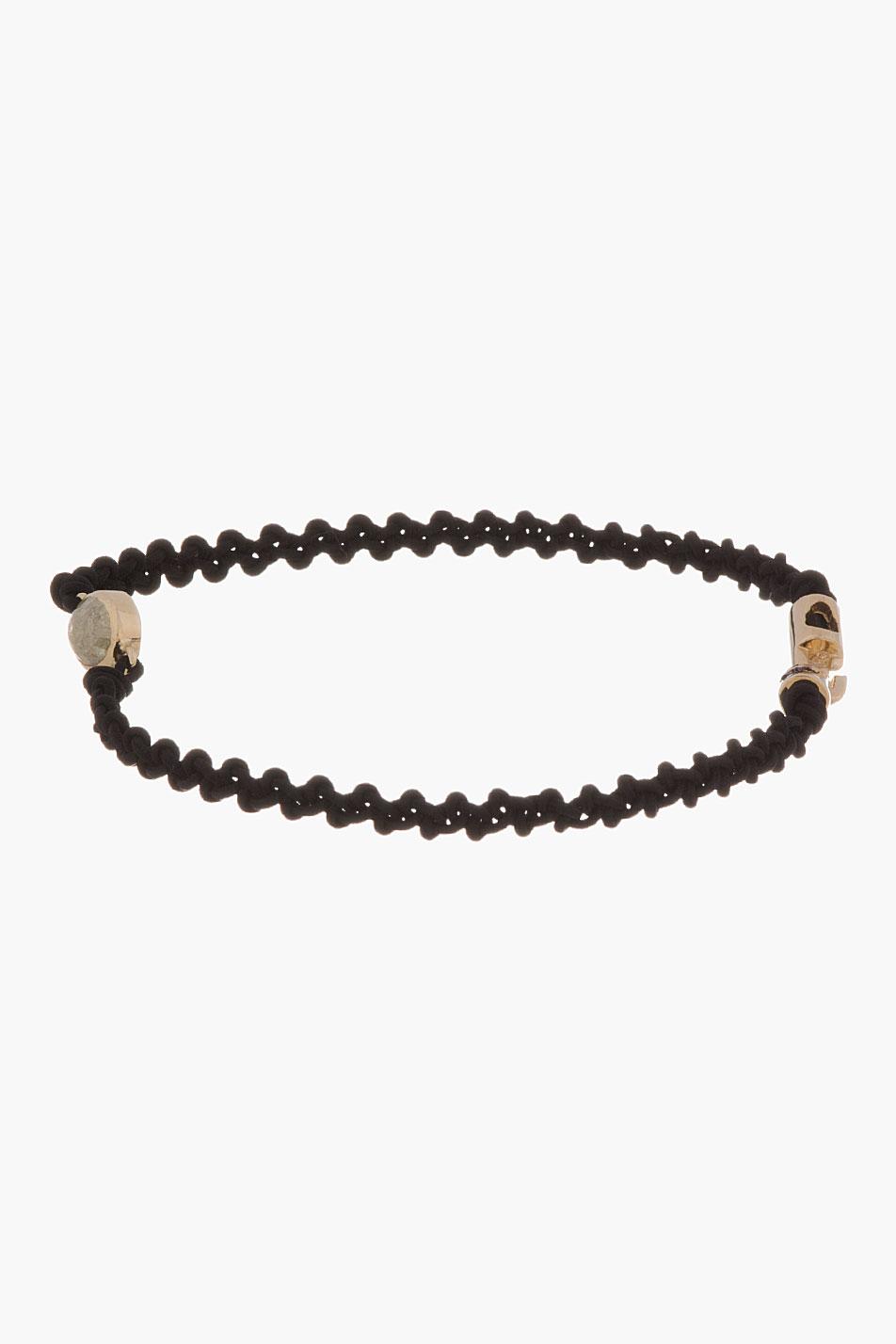 14-karat Gold Diamond Bracelet Luis Morais 9gg46dD