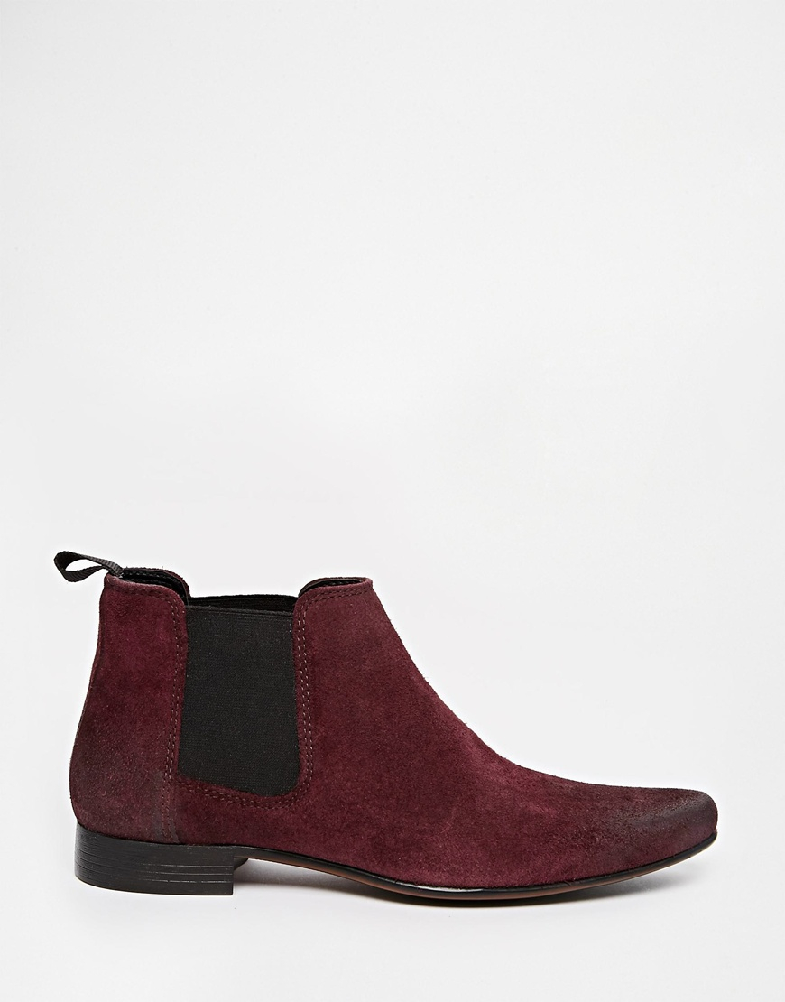 Amazing Michael Michael Kors Women39s Thea Leather Chelsea Boots In Red  Lyst