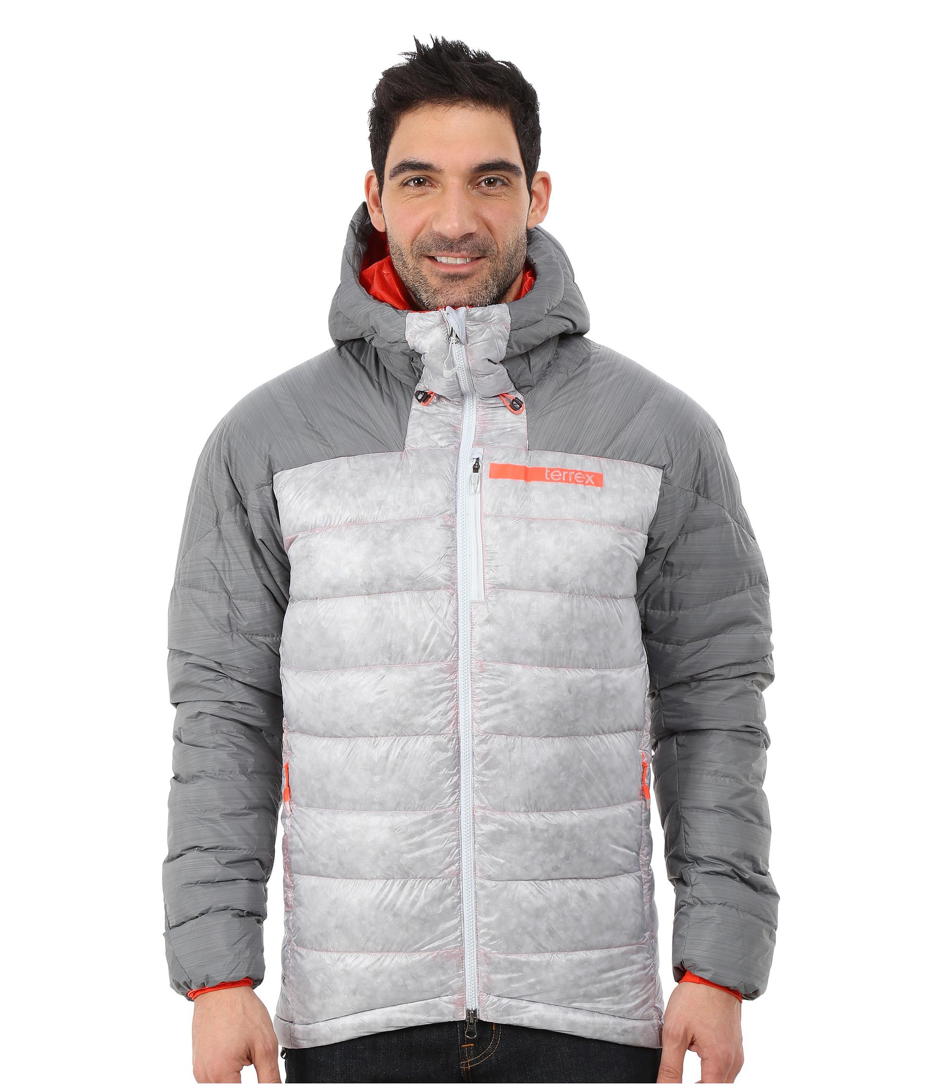 quality design 47611 acefb adidas Terrex Climaheat Techrock Hoodie in Metallic for Men - Lyst