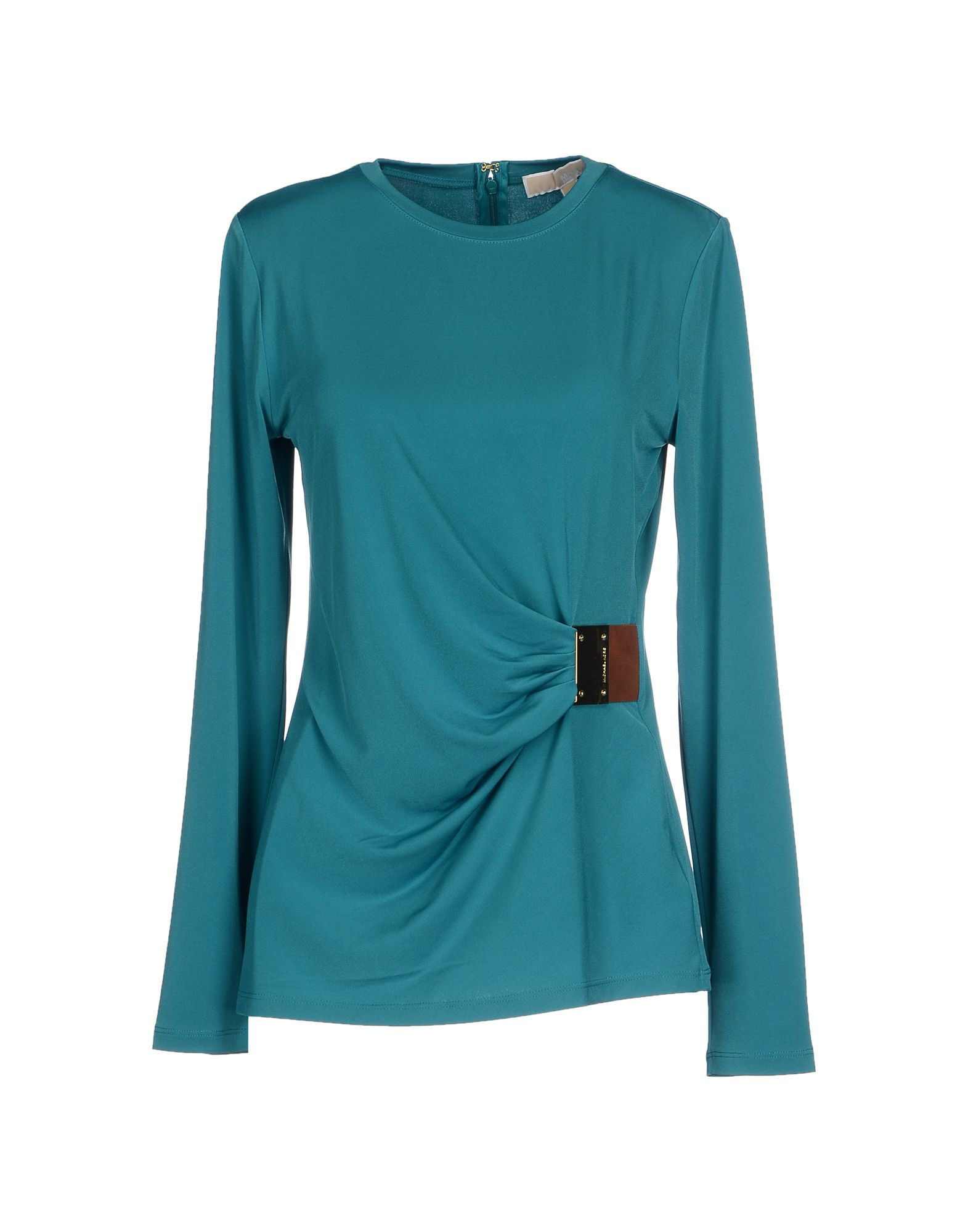 michael michael kors t shirt in blue lyst. Black Bedroom Furniture Sets. Home Design Ideas
