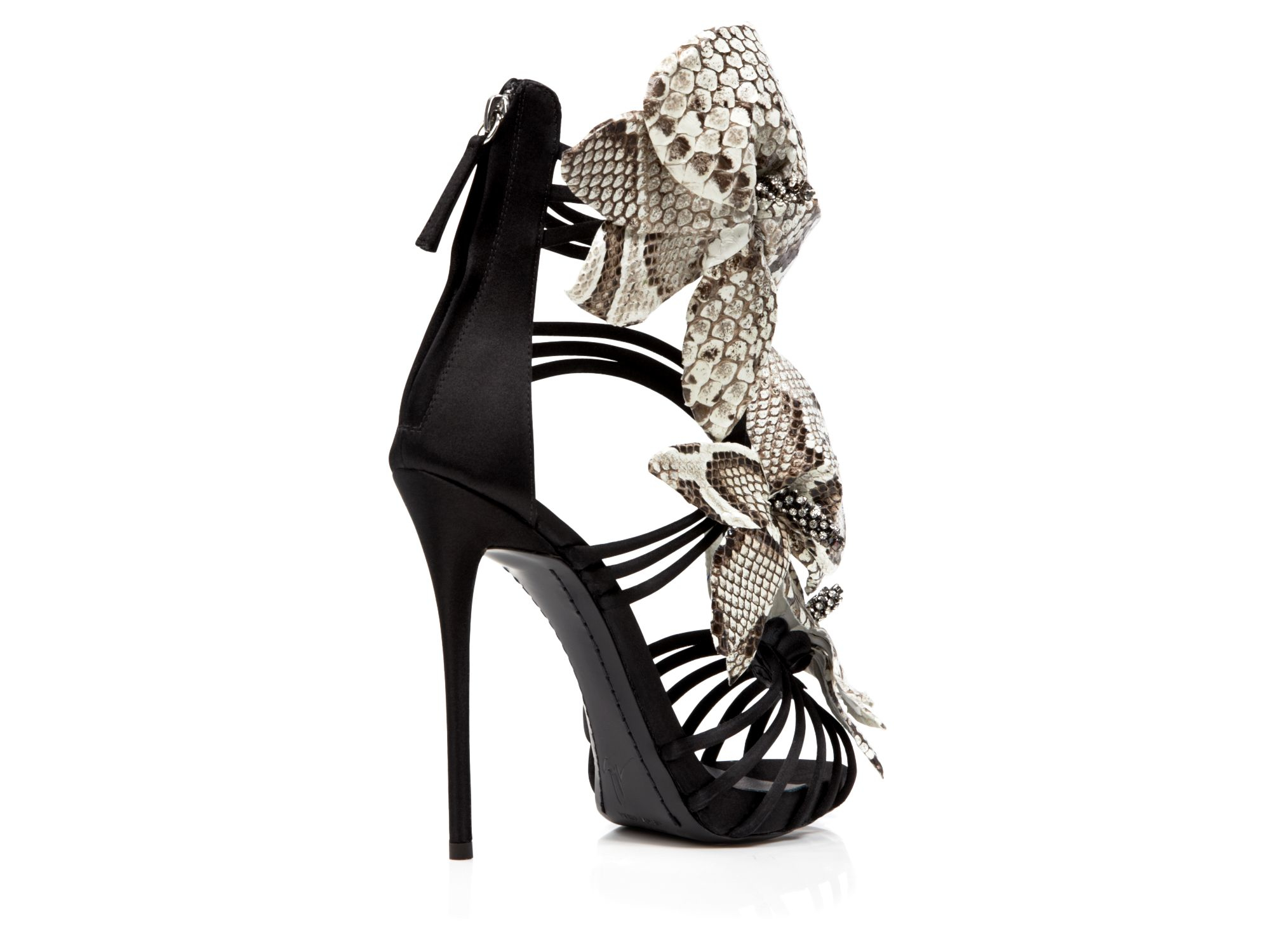 9252fec489f060 promo code for lyst giuseppe zanotti open toe platform evening sandals  coline ee266 a90cf