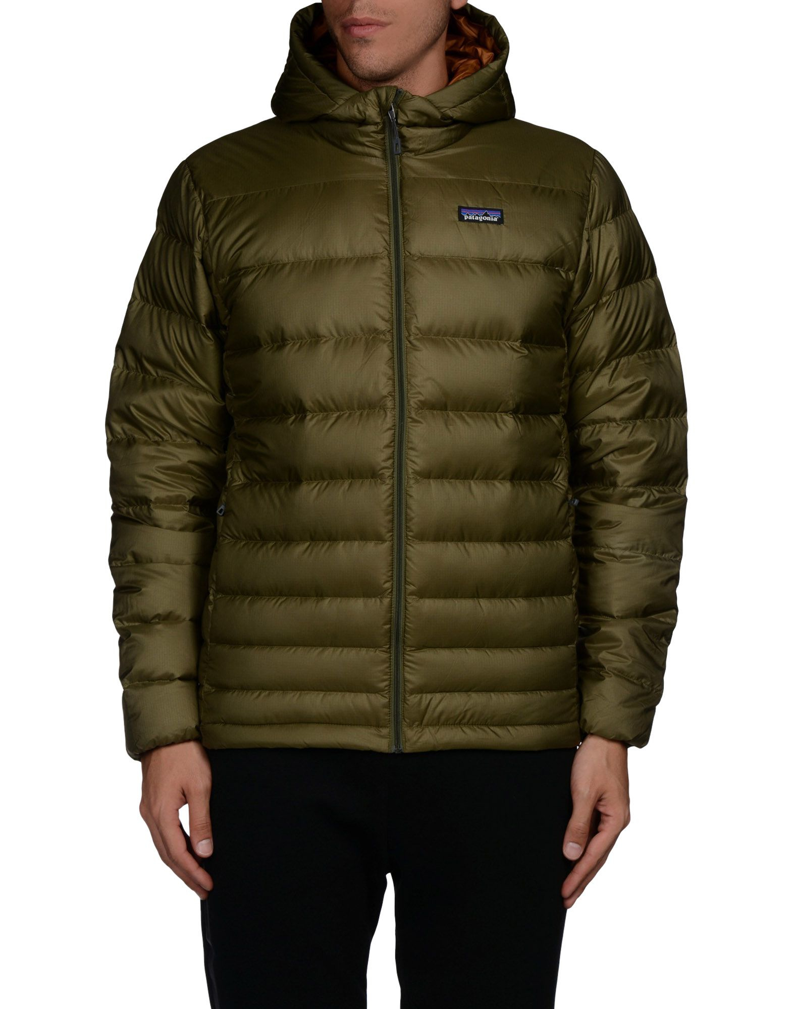 Patagonia Down Jacket in Green for Men | Lyst