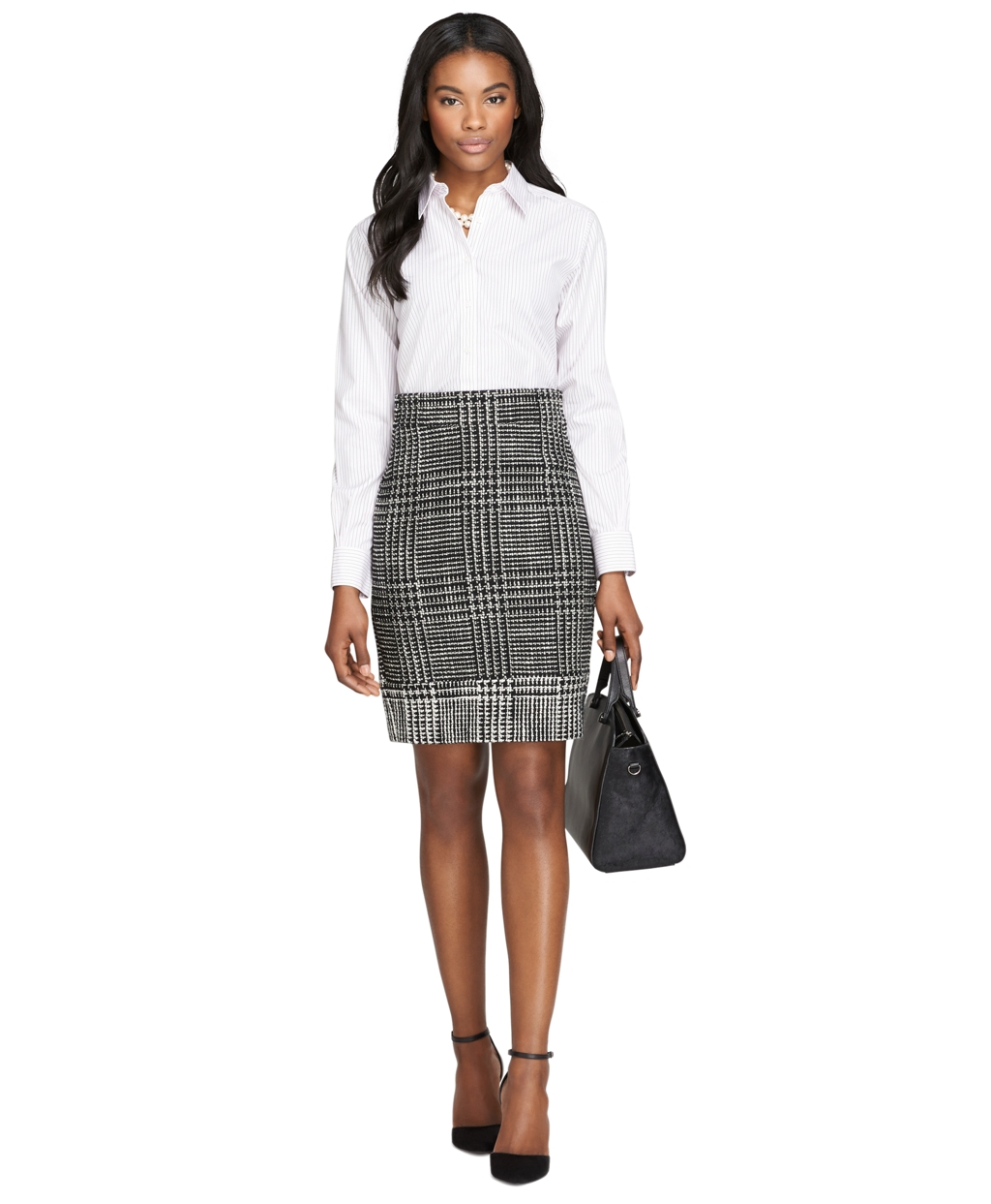 Lyst Brooks Brothers Noniron Classic Fit Stripe Dress