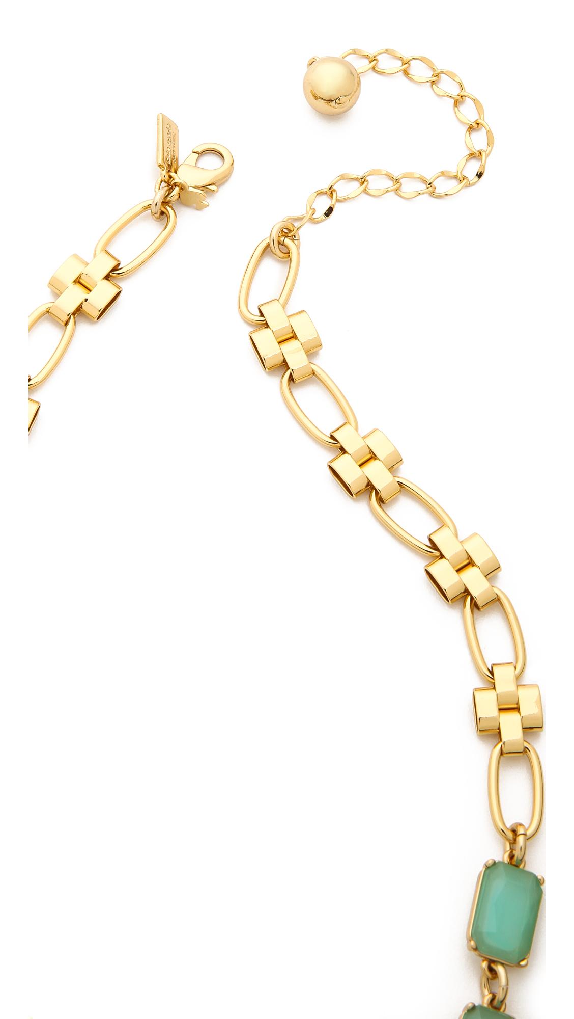 kate spade new york riviera garden pendant necklace multi