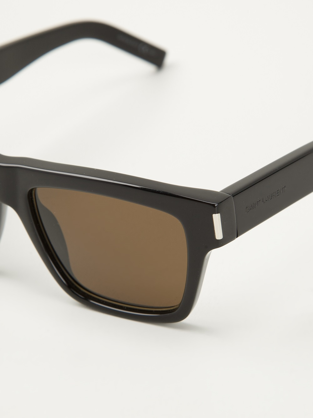 343c04b138b Lyst - Saint Laurent Bold 5 Sunglasses in Black for Men