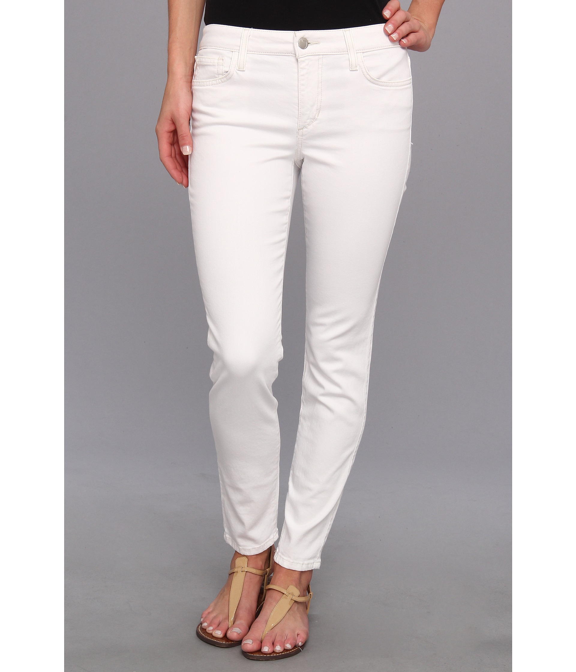 Joe's jeans Skinny Ankle in Pennie in White | Lyst