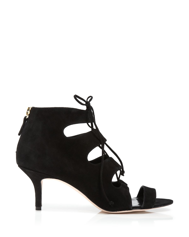 Mid Black Heels