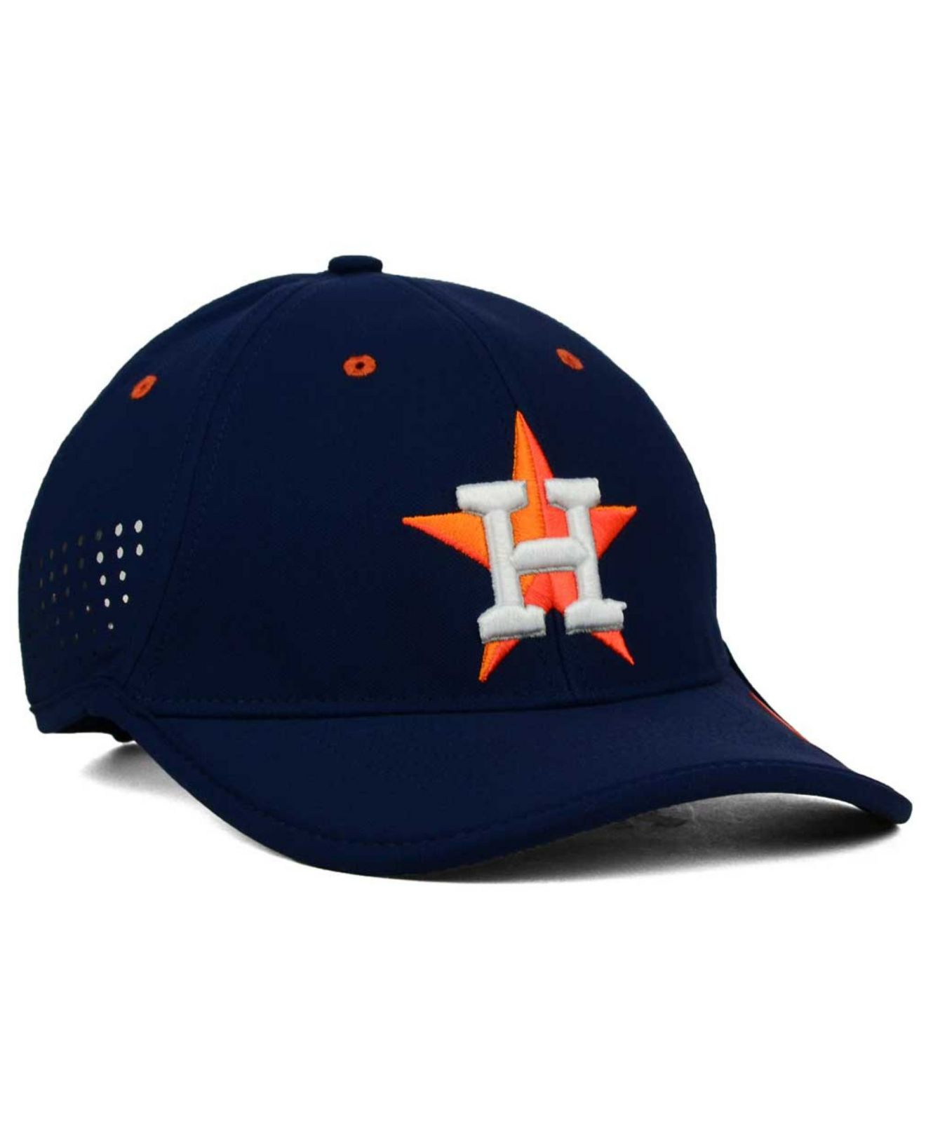 Lyst - Nike Houston Astros Vapor Swoosh Adjustable Cap in Blue for Men c6b87317ab9