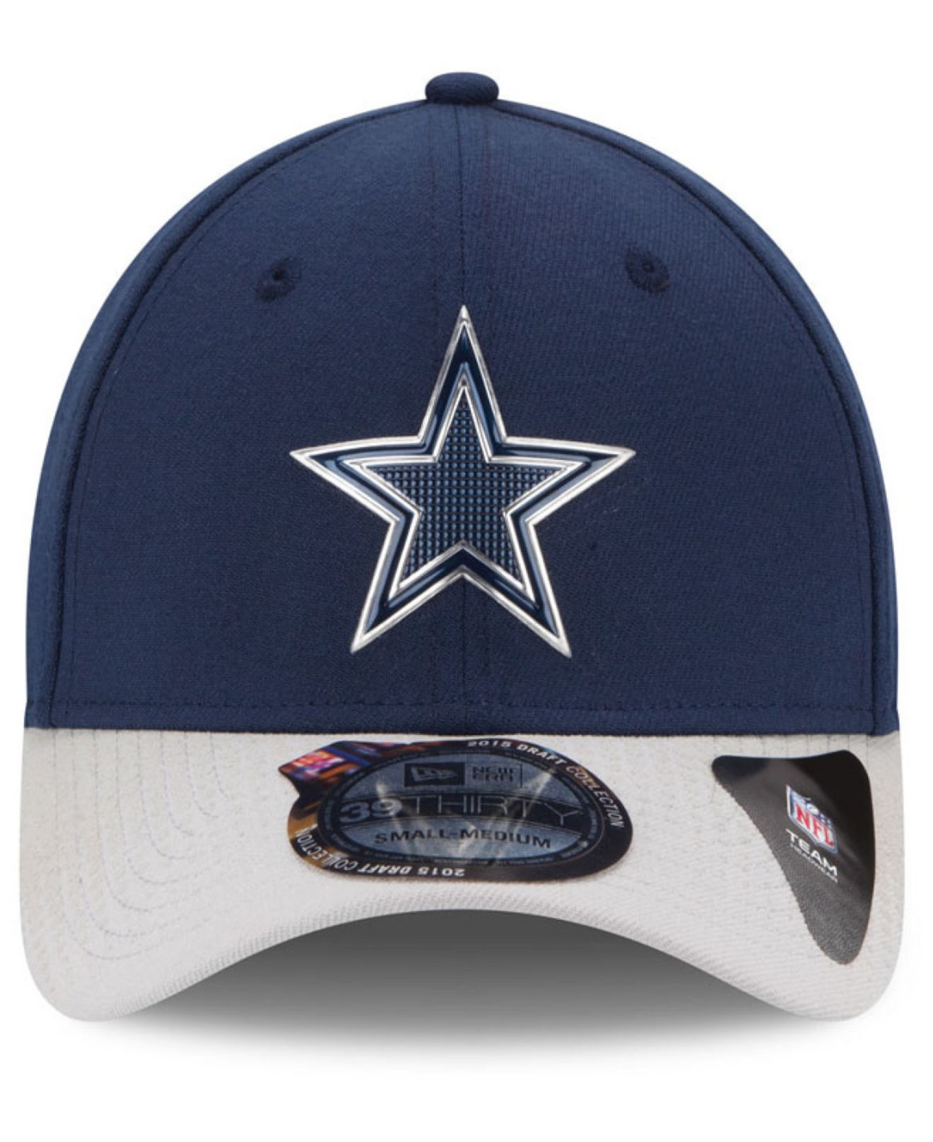 1d5b94b8bd2 Lyst Ktz Dallas Cowboys 2016 Nfl Draft 39thirty Cap In Blue For Men. Dallas  Cowboys New Era ...