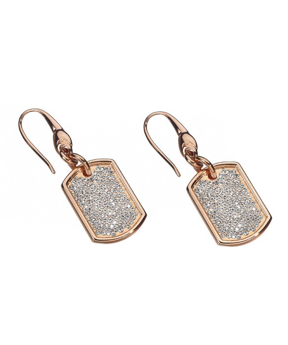 stella valle aspire earrings in metallic lyst