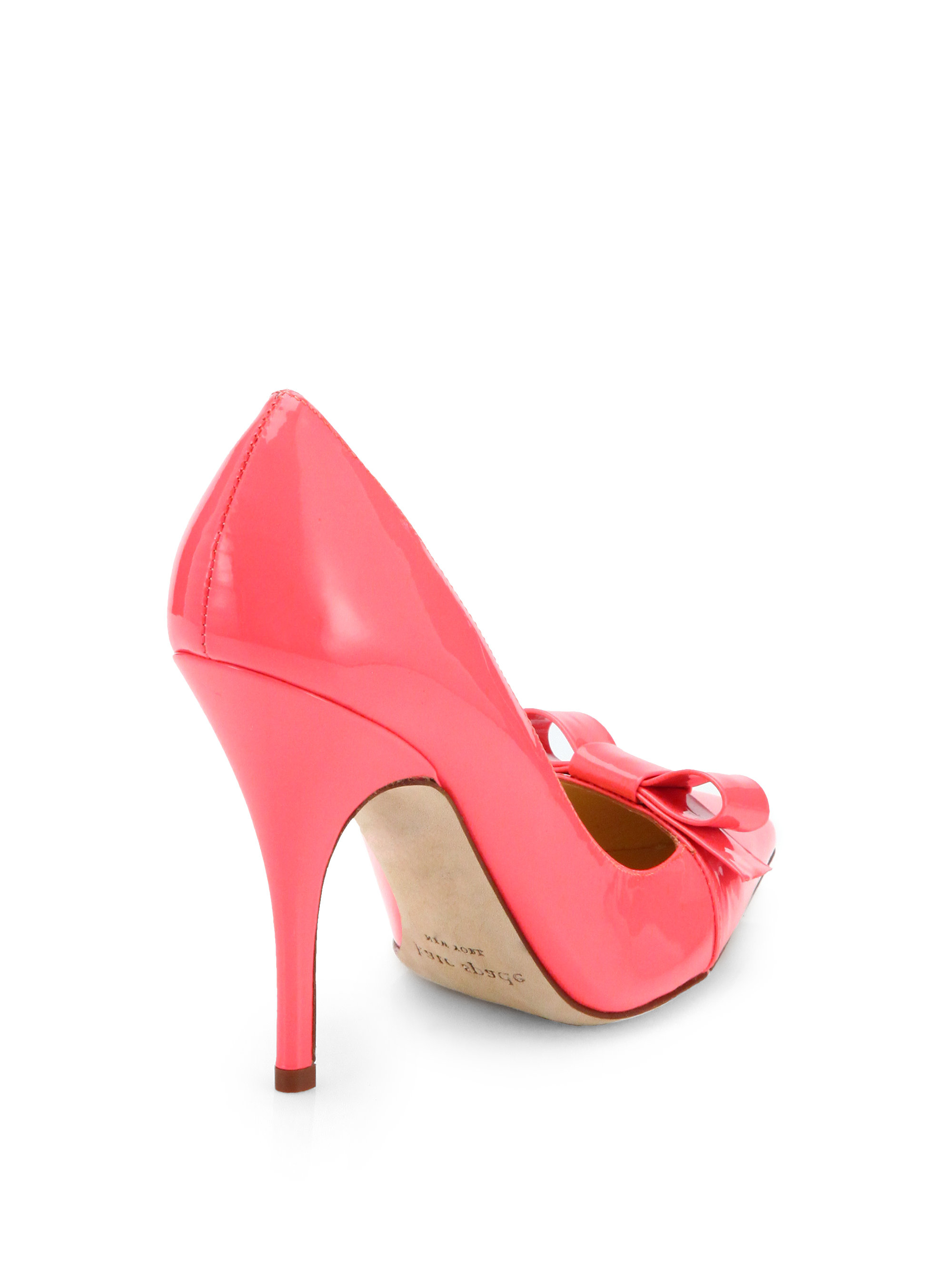 Kate Spade New York Lilia Bow Pumps In Pink Lyst