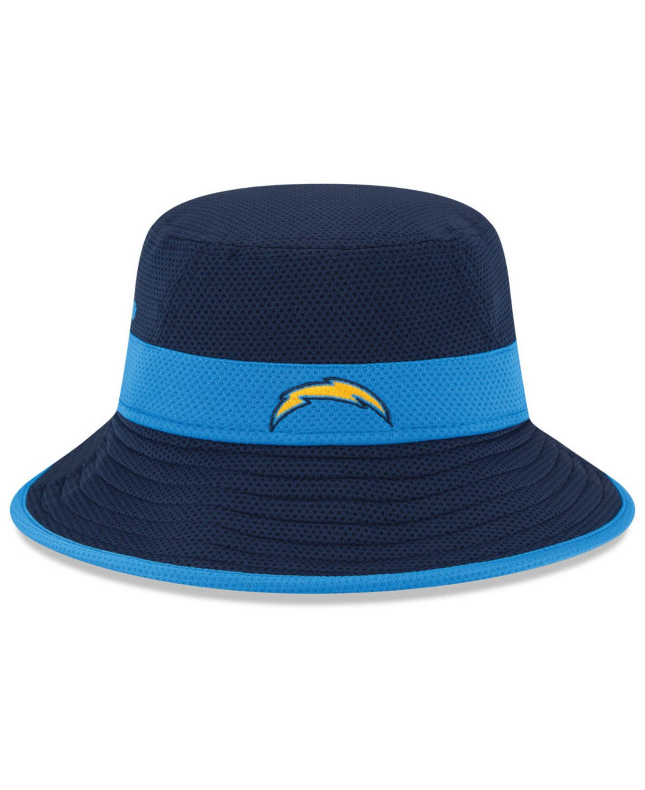 Ktz San Diego Chargers Training Camp Reverse Bucket Hat In