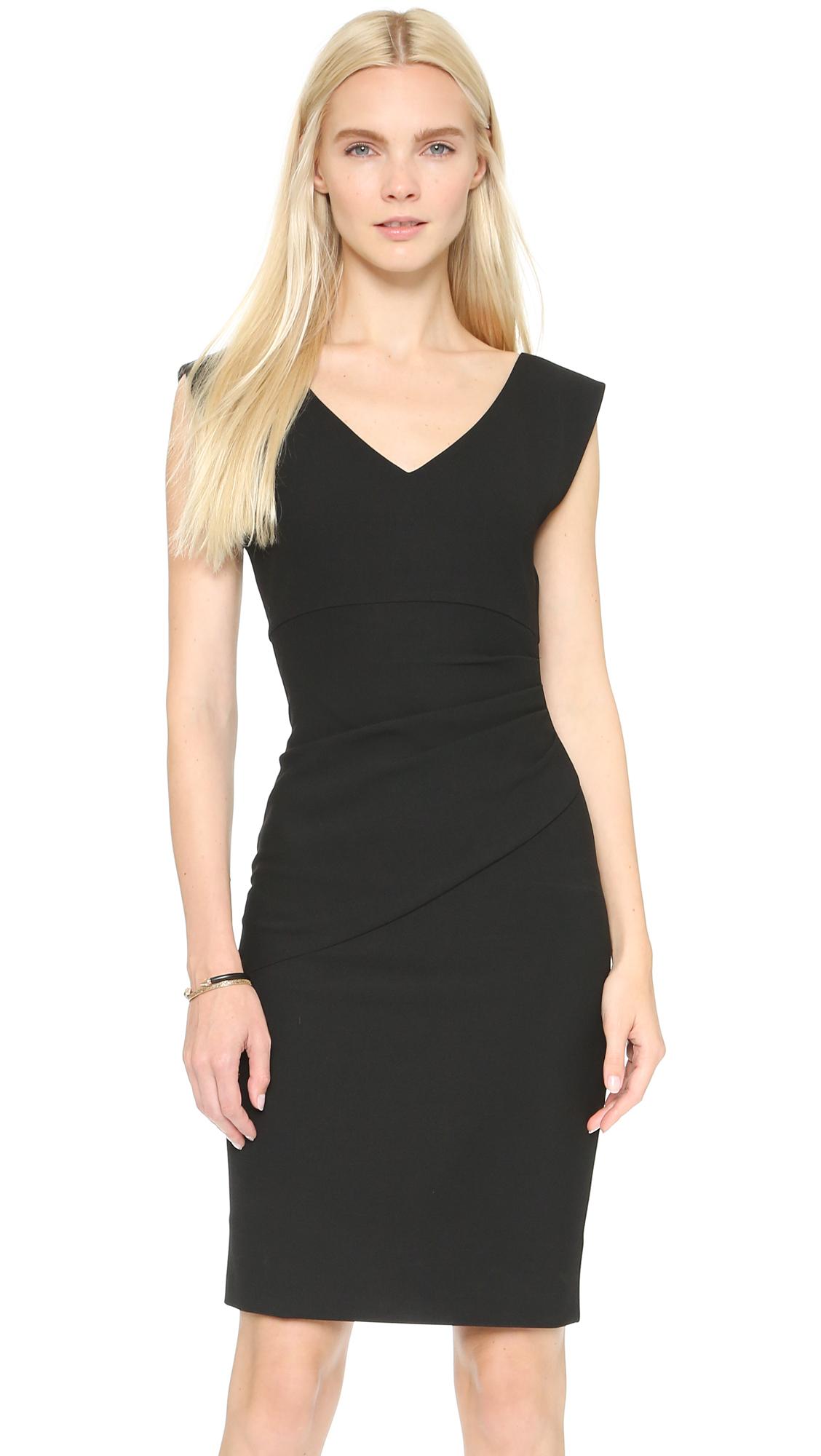 Diane Von Furstenberg Bevin Dress In Black Lyst