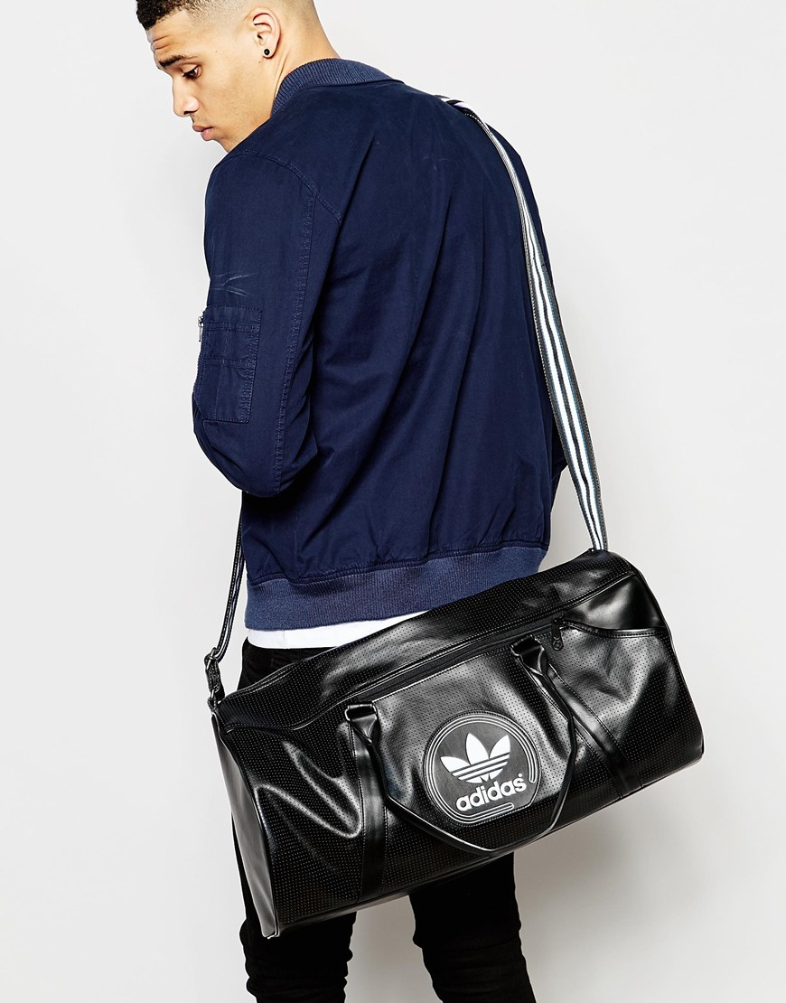 fd78a2ed0ccd adidas original leather gym bag