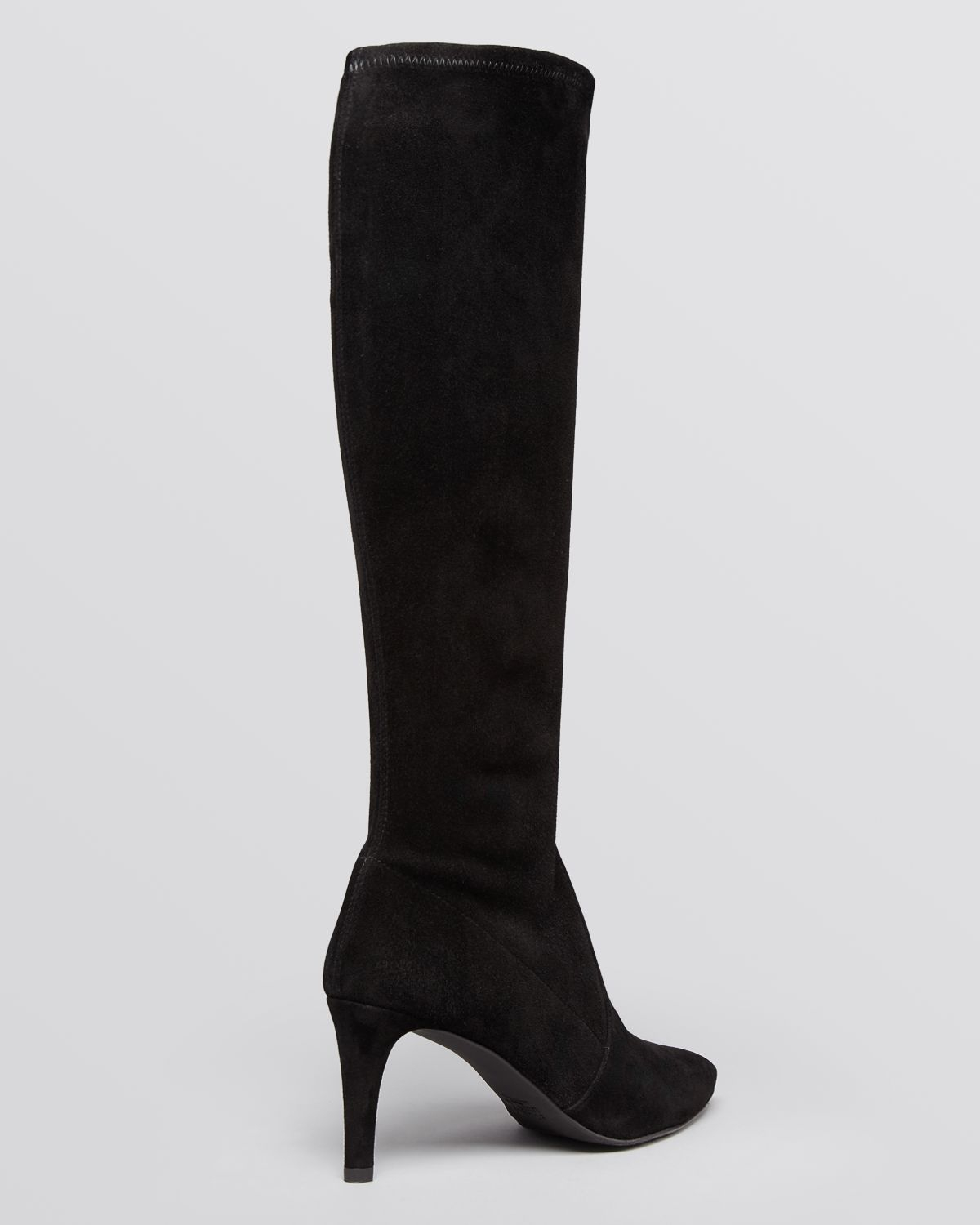 Stuart weitzman Thighland Suede Over-the-knee Boots in Black   Lyst