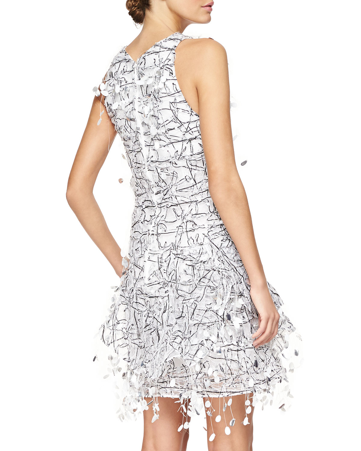 Paillette Cocktail Dress
