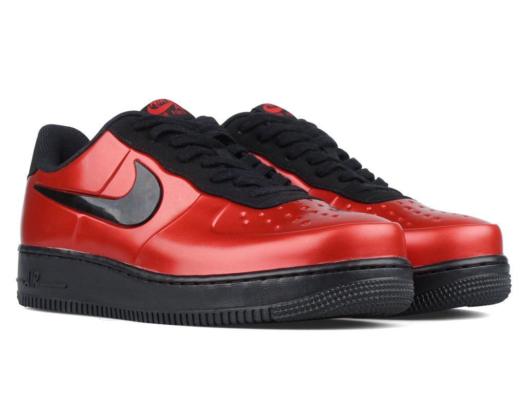 c9eb9b8263d ... coupon nike red air force 1 foamposite pro cupsole for men lyst. view  fullscreen e54db