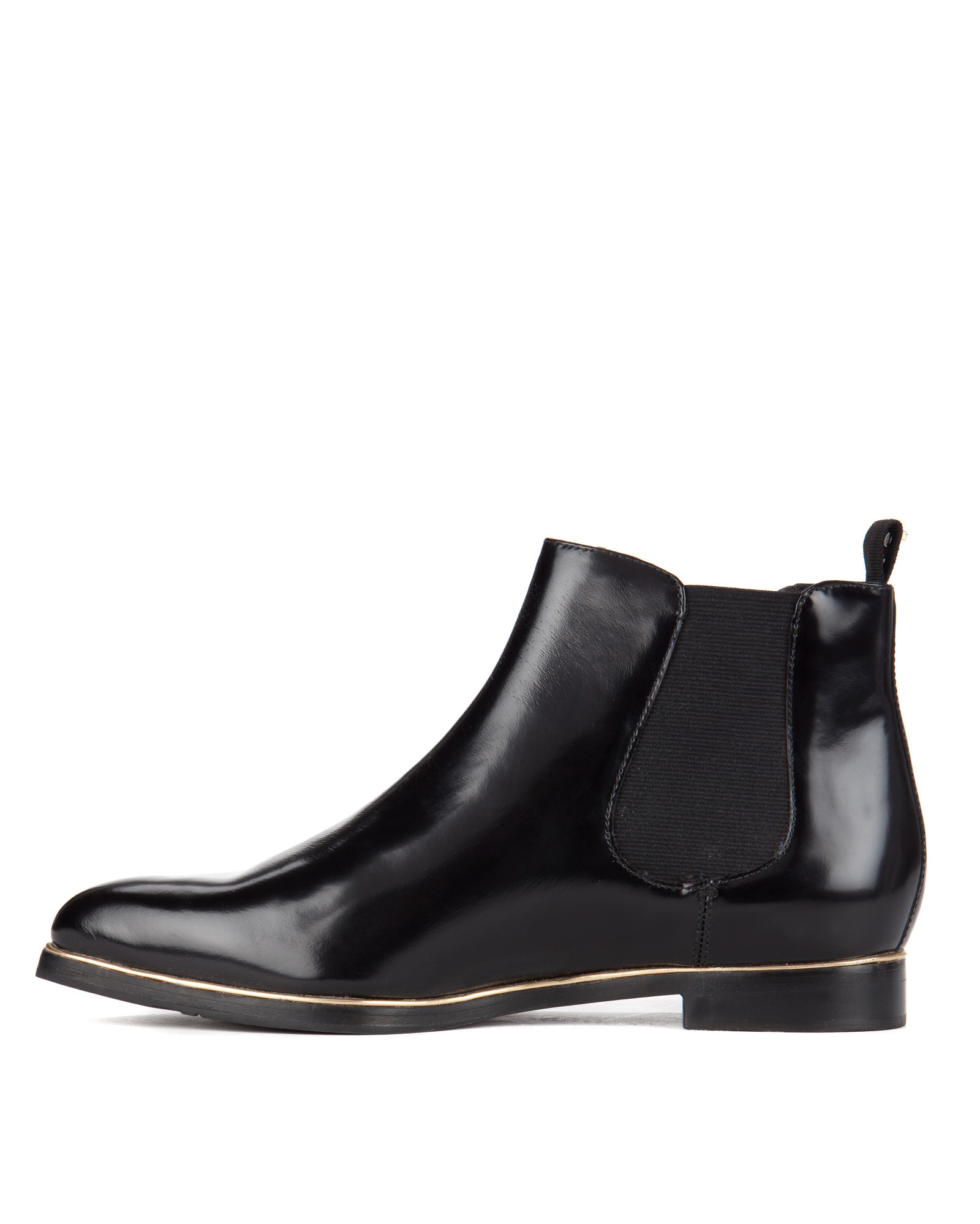 ted baker pointed ankle boots in black lyst