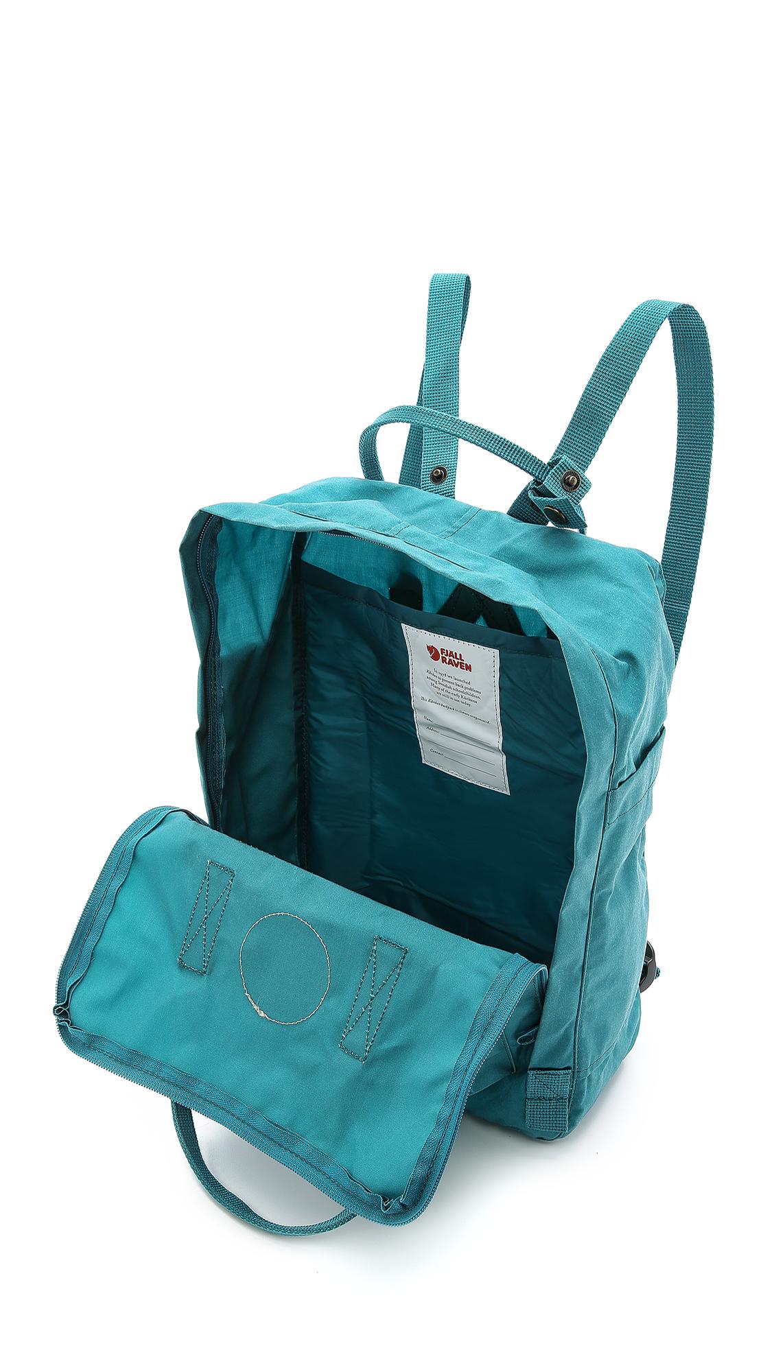 fjallraven kanken classic backpack ocean green