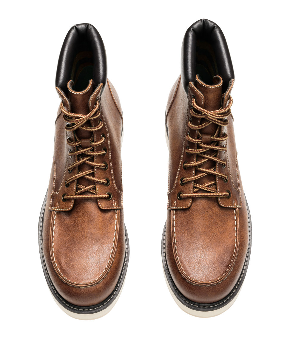 H&m Boots in Brown for Men | Lyst