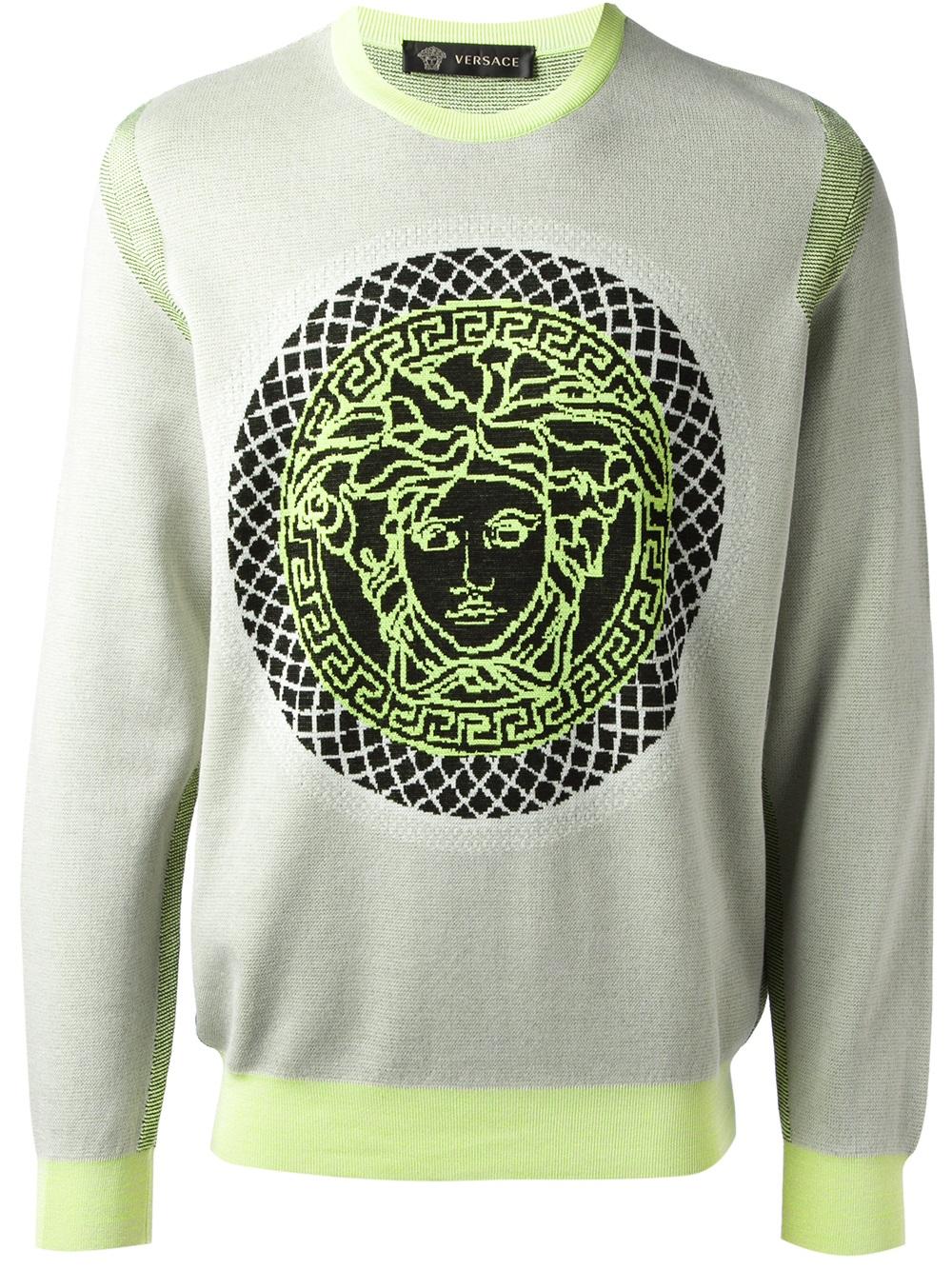 mens versace sweaters