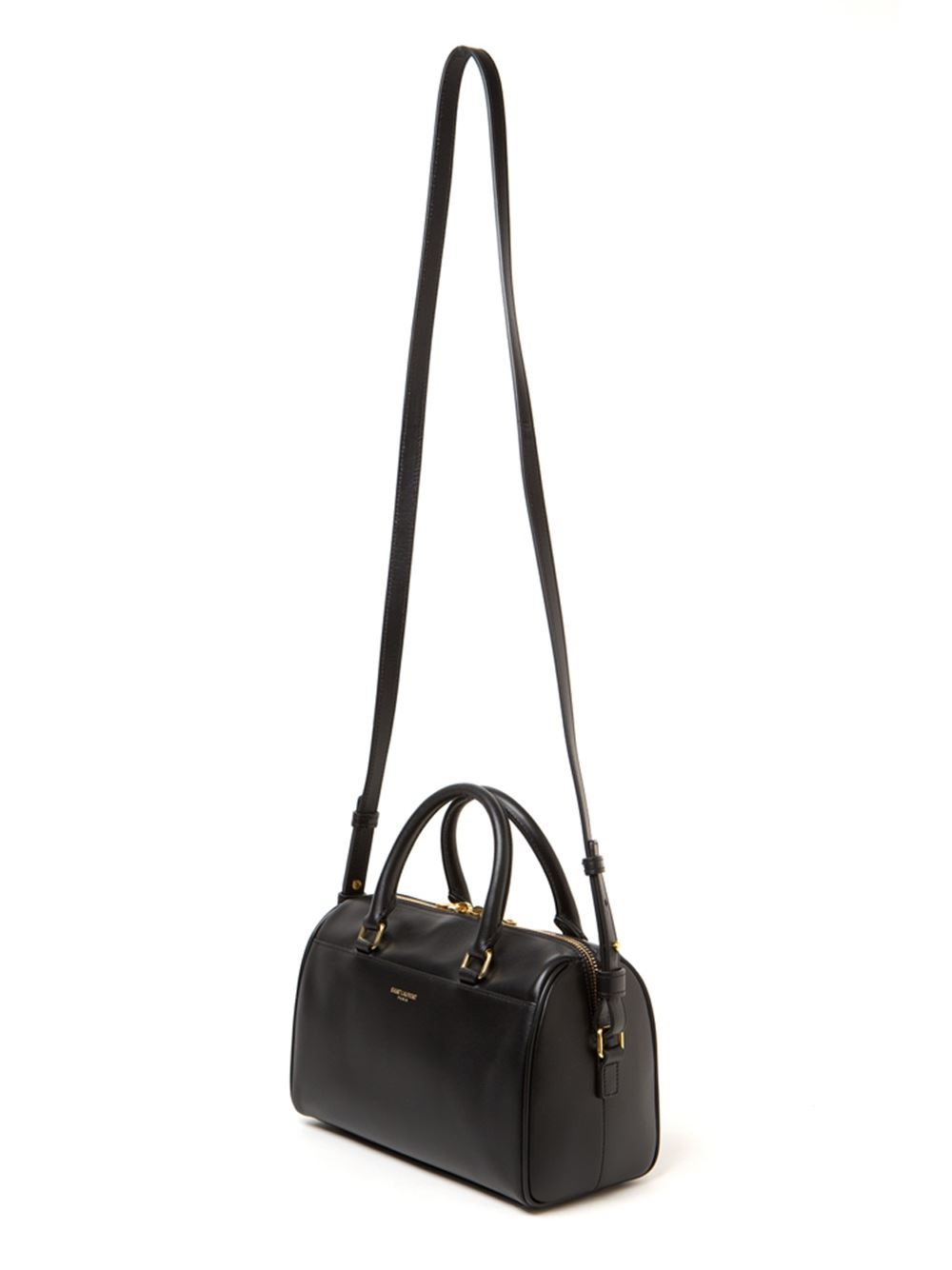 ysl cabas chyc small - small duffel saint laurent bag, black