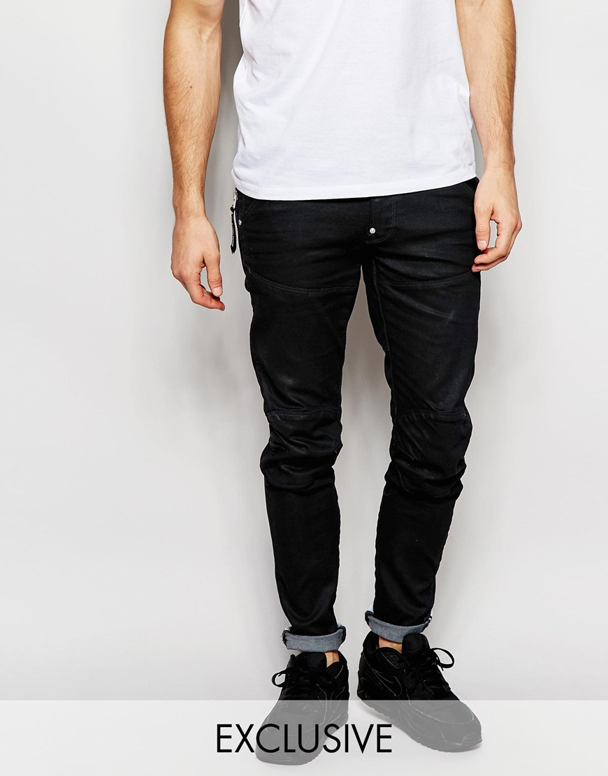 BeRaw Skinny Jeans - Blue G-Star cIzVImQeCw